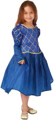 Карнавальный костюм для девочки Принцесса (синий цвет), Вестифика