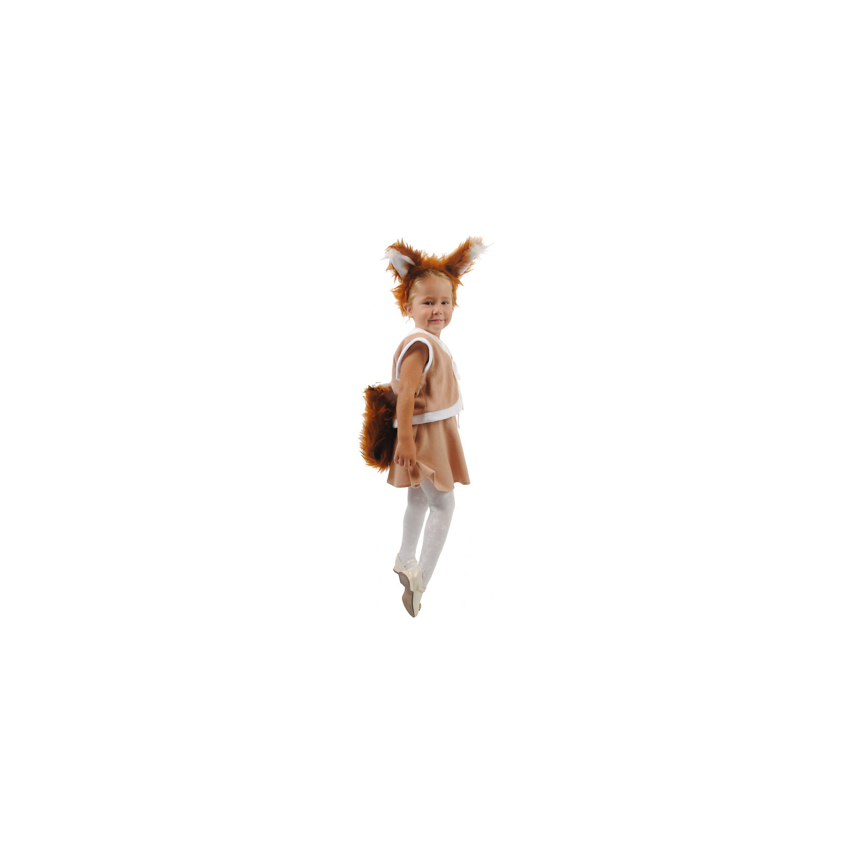 Карнавальный костюм для девочки Белочка, ВестификаКарнавальные костюмы и аксессуары<br>Детский карнавальный костюм Белочка произведен в России компанией Вестифика. Карнавальный костюм Белочка для девочки состоит из юбочки, жилетки с хвостиком, ободка с ушками. Мягкий и удобный костюм из флиса не стесняет движения. ребенок чувствует себя в нем абсолютно комфортно.<br><br>Дополнительная информация:<br><br>Комплектация:<br>Жилетка с хвостиком<br>Юбочка<br>Ободок с ушками<br>Ткани:<br>Флис (100% полиэстер)<br><br><br>Карнавальный костюм для девочки Белочка, Вестифика можно купить в нашем магазине.<br><br>Ширина мм: 236<br>Глубина мм: 16<br>Высота мм: 184<br>Вес г: 120<br>Цвет: разноцветный<br>Возраст от месяцев: 48<br>Возраст до месяцев: 60<br>Пол: Женский<br>Возраст: Детский<br>Размер: 104/110,116/122<br>SKU: 4389278