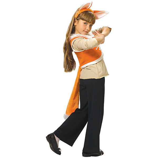Карнавальный костюм для девочки Лиса, ВестификаКарнавальные костюмы для девочек<br>Карнавальный костюм Лиса состоит из жилетки и ободка. Жилетка выполнена из мягкого флиса и посажена на хлопчатобумажную подкладку. На груди жилетка завязывается шнурком. К жилетке пришит пушистый лисий хвост. Дополняет комплект ободок с ушками.<br><br>Дополнительная информация:<br><br>Комплектация:<br>Жилетка с хвостиком<br>Ободок с ушками<br>Ткани:<br>Флис (100% полиэстер)<br>Бязь (100% хлопок)<br><br>Карнавальный костюм для девочки Лиса, Вестифика можно купить в нашем магазине.<br>Ширина мм: 236; Глубина мм: 16; Высота мм: 184; Вес г: 100; Возраст от месяцев: 48; Возраст до месяцев: 60; Пол: Женский; Возраст: Детский; Размер: 104/110,116/122; SKU: 4389281;