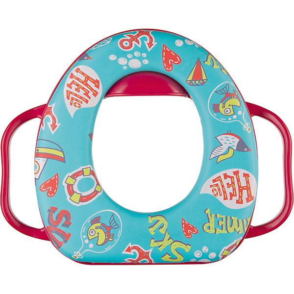 Накладка на унитаз Safary, Happy Baby, вишневыйДетские горшки<br>Цель детского сиденья — заинтересовать ребенка самостоятельным пользованием туалетом. Безопасное и комфортное мягкое сиденье приучит малыша пользоваться унитазом. Сиденье легкое, и малыш сможет самостоятельно установить его.<br><br>Дополнительная информация:<br><br>Надежные ручки<br>Подушка отделяется и легко моется<br>Подходящая по высоте защита от разбрызгивания, разработанная специально для мальчиков и девочек<br>Мягкое и приятное на ощупь<br>Легкое<br><br>Накладку на унитаз Safary, Happy Baby (Хэпи Бэби), вишневый можно купить в нашем магазине.<br><br>Ширина мм: 70<br>Глубина мм: 360<br>Высота мм: 300<br>Вес г: 400<br>Цвет: красный<br>Возраст от месяцев: 18<br>Возраст до месяцев: 36<br>Пол: Унисекс<br>Возраст: Детский<br>SKU: 4390741