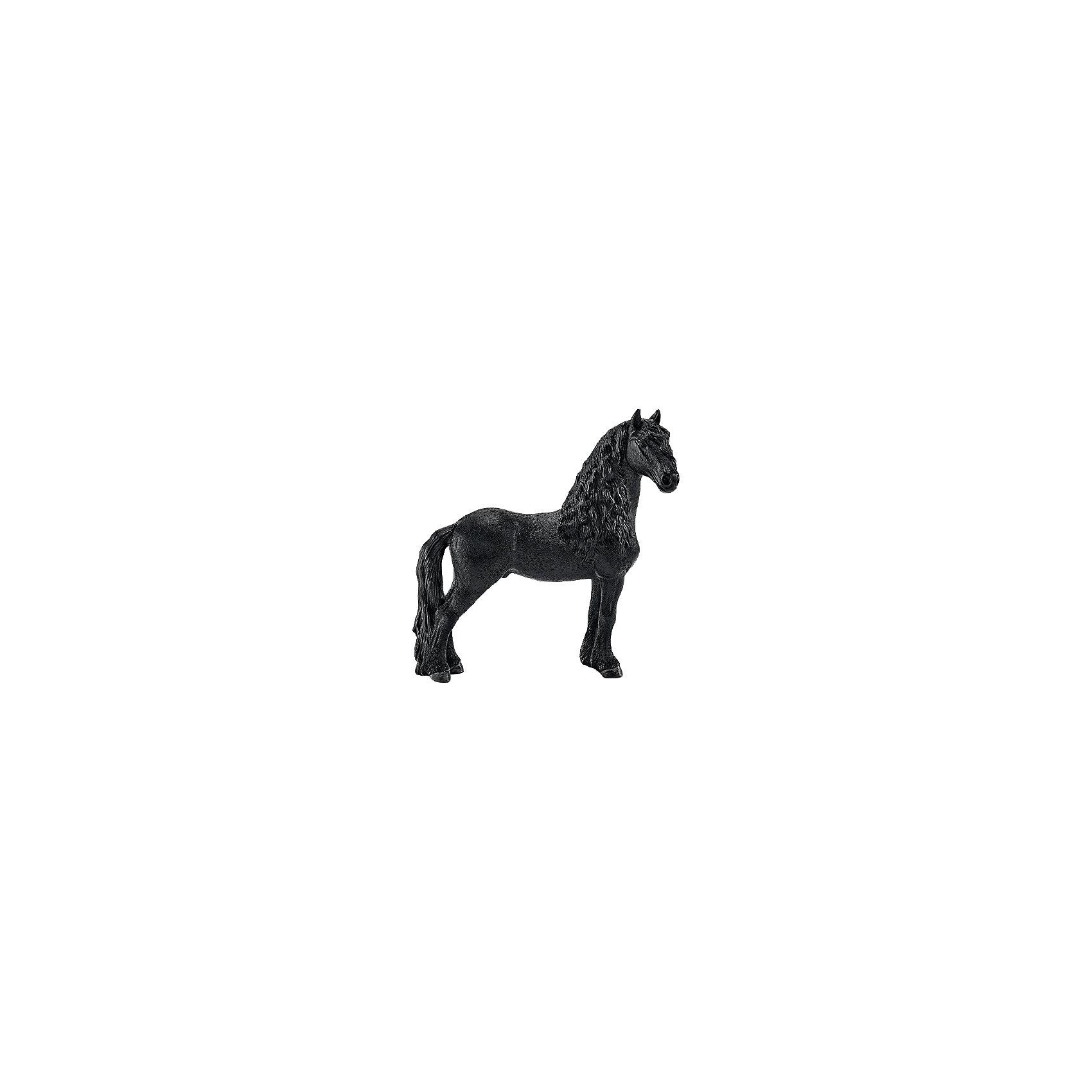 Schleich Фризиский жеребец, Schleich фигурки игрушки schleich фиордская лошадь жеребец