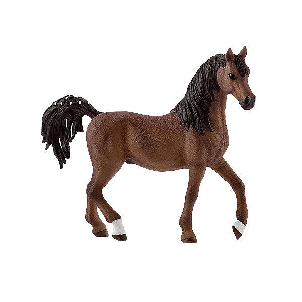 Арабский жеребец, SchleichМир животных<br>Арабский жеребец, Schleich (Шляйх) – это высококачественная коллекционная и игровая фигурка.<br><br>Великолепная натуралистичная фигурка Арабского жеребца станет прекрасным приобретением для ценителей фигурок лошадей.<br>Порода Арабских лошадей была выведена в Аравии. Порода отличается выносливостью, прекрасно поддается дрессировке. Раньше Арабская лошадь использовалась, прежде всего, как орудие войны. Порода знаменита своей выносливостью, неутомимостью, при этом они дружелюбны и элегантны. Сейчас эта порода является самой популярной в мире и ежегодно завоевывает большое количество различных мировых наград. <br><br>Прекрасно выполненные фигурки Schleich (Шляйх) являются максимально точной копией настоящих животных и отличаются высочайшим качеством игрушек ручной работы. Каждая фигурка разработана с учетом исследований в области педагогики.<br><br>Фигурка Арабского жеребца прекрасно разнообразит игру вашего ребенка и станет отличным пополнением коллекции его фигурок животных.<br><br>Все фигурки сделаны из гипоаллергенных высокотехнологичных материалов, раскрашены вручную и не вызывают аллергии у ребенка.<br><br>Дополнительная информация:<br><br>- Размер фигурки: 12 x 3.5 x 11 см..<br>- Материал: высококачественный каучуковый пластик<br><br>Фигурку Арабского жеребца, Schleich (Шляйх) можно купить в нашем интернет-магазине.<br><br>Ширина мм: 142<br>Глубина мм: 124<br>Высота мм: 40<br>Вес г: 103<br>Возраст от месяцев: 36<br>Возраст до месяцев: 96<br>Пол: Женский<br>Возраст: Детский<br>SKU: 4394580