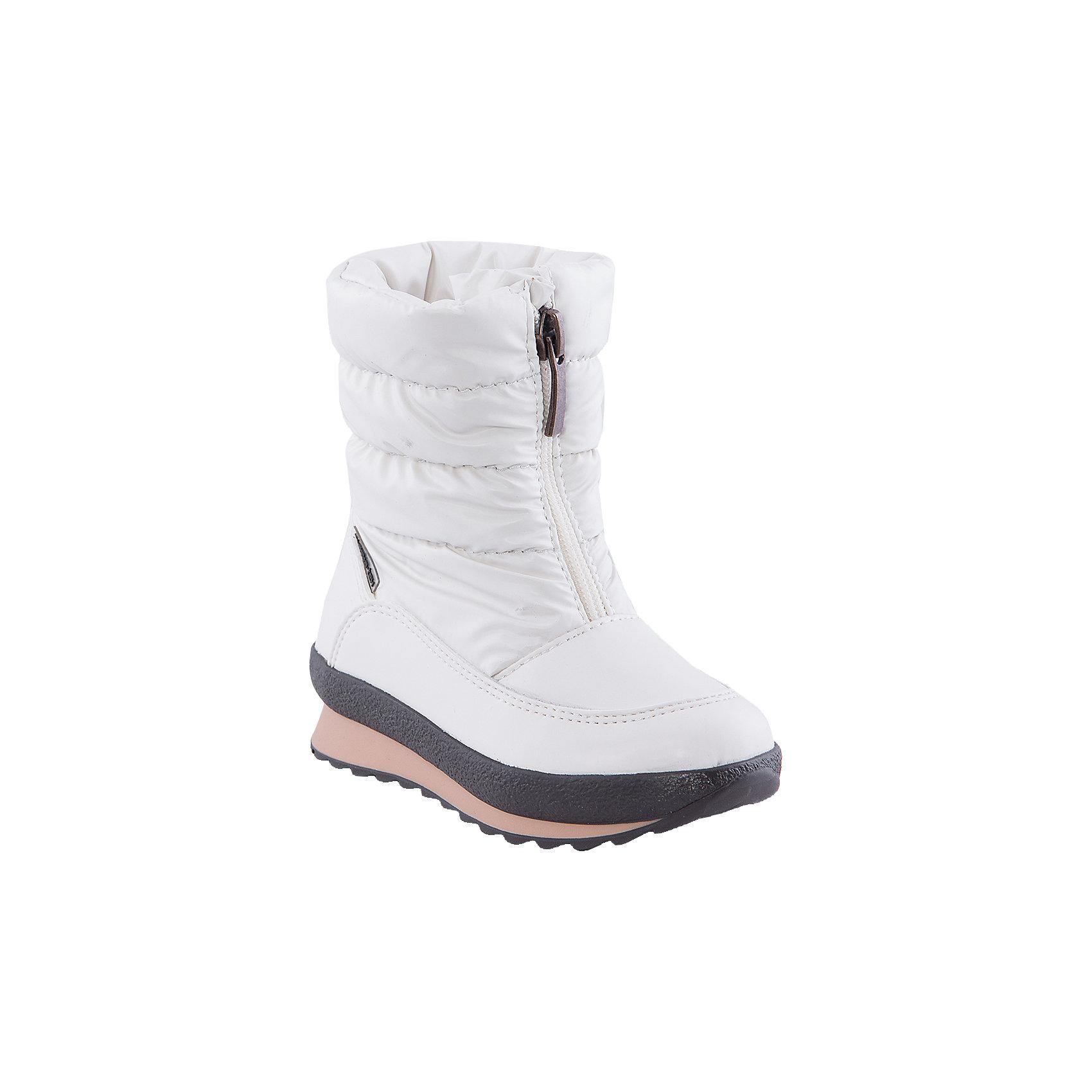 Сапоги для девочки Alaska OriginaleСапоги<br>Мембранная обувь AlaskaOriginale - это стильная, удобная и высокотехнологичная обувь нового поколения, которая при любой погоде остается сухой и теплой. Полиуретановая литая подошва с системой «ANTISLIDE» обеспечивает превосходное сцепление, высокую устойчивость к деформациям, низким температурами и гарантирует полную водонепроницаемость. Мембрана позволяет стопе «дышать», сохраняя ее сухой. Благодаря всем этим свойствам обувь обеспечивает комфорт при ношении от +5 до -25 градусов.<br><br>Состав: <br>Материалы верха: Текстильные материалы. Подрошва:Термопластик.<br><br>Ширина мм: 257<br>Глубина мм: 180<br>Высота мм: 130<br>Вес г: 420<br>Цвет: белый<br>Возраст от месяцев: 36<br>Возраст до месяцев: 48<br>Пол: Женский<br>Возраст: Детский<br>Размер: 27,24,25,26<br>SKU: 4399102