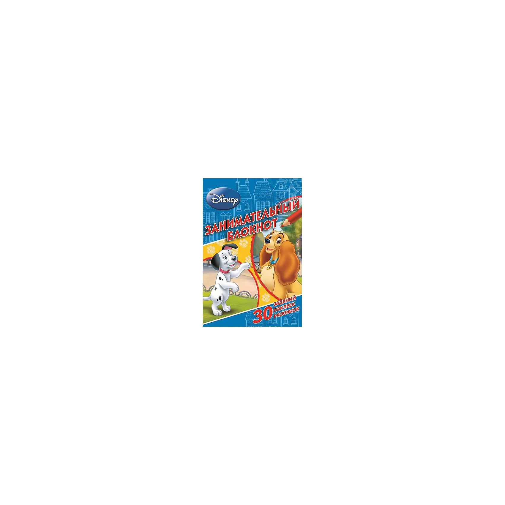 Раскраски с наклейками Занимательный блокнот, DisneyЗанимательный блокнот Классические персонажи Дисней – это красочное издание с героями Disney сделает досуг вашего малыша веселей и интереснее.<br>Персонажи известных мультфильмов Уолта Диснея ждут малышей на страницах занимательного блокнота. В нем ваш ребенок найдет раскраски с ярким контуром, увлекательные задания, красочные наклейки и яркие цветные иллюстрации! Для детей младшего школьного возраста.<br><br>Дополнительная информация:<br><br>- Редактор: Баталина Вера<br>- Издательство: Эгмонт, 2015 г.<br>- Серия: Занимательный блокнот<br>- Тип обложки: мягкий переплет (крепление скрепкой или клеем)<br>- Оформление: с наклейками<br>- Иллюстрации: черно-белые, цветные<br>- Количество страниц: 64 (офсет)<br>- Размер: 207x140x7 мм.<br>- Вес: 154 гр.<br><br>Занимательный блокнот Классические персонажи Дисней можно купить в нашем интернет-магазине.<br><br>Ширина мм: 207<br>Глубина мм: 140<br>Высота мм: 7<br>Вес г: 140<br>Возраст от месяцев: 72<br>Возраст до месяцев: 144<br>Пол: Унисекс<br>Возраст: Детский<br>SKU: 4400514