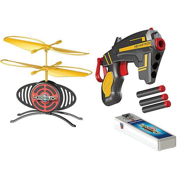 Летающая мишень TargetFX, HoverTechИнтерактивные игрушки для малышей<br>Летающая мишень TargetFX, HoverTech (ХоверТек) – это интерактивный тир с летающей мишенью-дроном и бластером с запасом патронов.<br>Мечта любого мальчишки: бластер, стреляющий стандартными патронами (вес снаряда 1 грамм) и мишень, которая парит в воздухе и двигается в любом направлении. Благодаря специальному датчику мишень парит на высоте 1 – 1,5 метра от поверхности. Задача игрока — поразить её центр своим выстрелом. Но это не так просто, как кажется на первый взгляд. Предусмотрено 3 режима игры: практика, одиночный режим и боевой режим для продвинутых игроков. В режиме практика мишень летает две минуты, вне зависимости от попаданий по ней. В одиночном режиме мишень летает две минуты или пока в нее не попадут три раза. В боевом режиме игрок должен за минуту совершить один точный выстрел. Заряда аккумулятора мишени хватает на 5 минут полёта. Игра поможет развить меткость, скорость, координацию и ловкость. Мишень оснащена сенсорами, реагирующими на сигналы, которые отражаются от поверхности снизу и сверху, а также автоматическим выключателем, на случай если пропеллер наткнется на непреодолимое препятствие во время полета. Лучше всего играть в комнате со светлым полом и потолком, не рекомендуется играть в комнате с темным полом и коврами.<br><br>Дополнительная информация:<br><br>- В наборе: бластер, мишень TargetFX с несъемным аккумулятором, 3 патрона с безопасными наконечниками из мягкого полимера, зарядное устройство<br>- Материал: высококачественная пластмасса<br>- Батарейки: 4 алкалиновые батарейки АА 1,5V (в комплект не входят)<br>- Размер упаковки: 305х205х90 мм.<br>- Вес: 542 гр.<br><br>Летающую мишень TargetFX, HoverTech (ХоверТек) можно купить в нашем интернет-магазине.<br><br>Ширина мм: 305<br>Глубина мм: 205<br>Высота мм: 90<br>Вес г: 542<br>Возраст от месяцев: 36<br>Возраст до месяцев: 84<br>Пол: Мужской<br>Возраст: Детский<br>SKU: 4401524