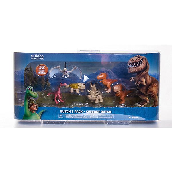 Набор из 6 мини-фигурок, Хороший динозаврФигурки из мультфильмов<br>Набор из 6 мини-фигурок, Хороший динозавр – это замечательные игровые фигурки, изображающие героев мультфильма Хороший динозавр.<br>Набор мини-фигурок Хороший динозавр без сомнения понравится вашему ребенку, ведь теперь он сможет пережить самые яркие моменты мультфильма с его героями или отправиться на новые приключения. В набор входят 6 фигурок героев мультика с подвижными частями тела: Анкилозавр, Раптор, Бутч, Ремси, Аконтофиопс, Птеродактиль. Фигурки изготовлены из высококачественных нетоксичных материалов, абсолютно безопасных для Вашего малыша. Ваш ребенок часами будет играть с фигурками, придумывая различные истории.<br><br>Дополнительная информация:<br><br>- В наборе: 6 мини-фигурок<br>- Средняя высота фигурки: 4 см.<br>- Материал: пластик<br>- Размер упаковки: 32 x 9 x 15,5 см.<br>- Вес: 288 гр.<br><br>Набор из 6 мини-фигурок, Хороший динозавр можно купить в нашем интернет-магазине.<br><br>Ширина мм: 320<br>Глубина мм: 155<br>Высота мм: 90<br>Вес г: 288<br>Возраст от месяцев: 36<br>Возраст до месяцев: 84<br>Пол: Унисекс<br>Возраст: Детский<br>SKU: 4401536