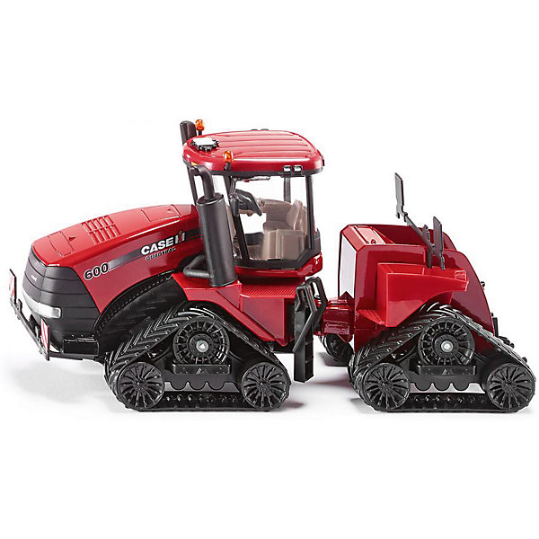 SIKU 3275 Трактор гусеничныйМашинки<br>SIKU 3275 Трактор гусеничный - это великолепная игрушка и прекрасный подарок для мальчика.<br>Гусеничный трактор Quadtrac 600 до мельчайших деталей соответствует оригиналу трактору Case STX Steiger. Корпус трактора выполнен из металла с незначительными пластиковыми элементами. Трактор на гусеничном ходу, кабина выполнена из качественного красного и черного пластика, гусеницы – из резины. Кабина трактора прозрачная, дверцы открываются, колеса вращаются, маячки на крыше кабины поворачиваются. Игрушка SIKU Трактор гусеничный благодаря качественной сборке подойдет для активных игр, детали устойчивы к поломке. <br><br>Дополнительная информация:<br><br>- Масштаб 1:32<br>- Материал: металл, пластик, резина<br>- Размер упаковки: 31,6 x 11 х 17,1 см.<br>- Вес: 928 гр.<br><br>SIKU 3275 Трактор гусеничный можно купить в нашем интернет-магазине.<br>Ширина мм: 316; Глубина мм: 110; Высота мм: 171; Вес г: 928; Возраст от месяцев: 36; Возраст до месяцев: 144; Пол: Мужской; Возраст: Детский; SKU: 4403115;