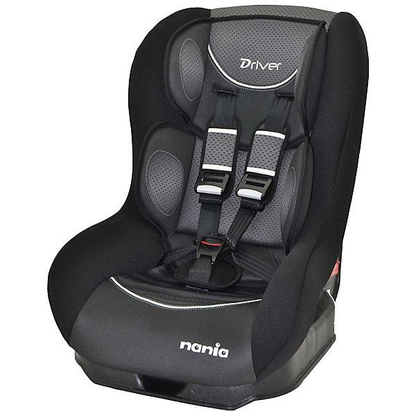 Автокресло Nania Driver FST 0-18 кг, graphic blackГруппа 0-1 (до 18 кг)<br>Автокресло Driver FST, Nania - комфортная надежная модель, которая сделает поездку Вашего ребенка приятной и безопасной. Серия FIRST - это базовая версия автокресла с простым дизайном и высоким европейским качеством. Сиденье кресла имеет удобную анатомическую форму, что обеспечивает комфорт во время длительных поездок. Для новорожденных предусмотрена специальная мягкая вкладка, которая фиксирует голову, шею и тело ребенка в правильном положении. Наклон спинки можно регулировать в 5 положениях. Кресло оснащено регулируемыми 5-точечными ремнями безопасности с 3-мя уровнями регулировки по высоте и мягкими плечевыми накладками. Каркас из ударопрочного полипропилена, усиленные боковины и дополнительная прослойка из полистирола, поглощающая удары, уберегут ребёнка от серьезных травм. <br><br>Автокресло легко и надежно фиксируется при помощи штатных ремней безопасности. Для малышей весом до 10 кг. автокресло устанавливается на заднем сиденье лицом против движения авто, при весе ребенка от 10 до 18 кг. кресло устанавливается лицом по ходу движения автомобиля. Кресло изготовлено из высококачественных материалов, тканевую обивку можно снимать и стирать вручную при комнатной температуре. Соответствует Европейскому стандарту безопасности ЕСЕ R44/04. Рассчитано на детей от 0 до 3-4 лет, весом 0-18 кг.<br><br>  Дополнительная информация:<br><br>- Цвет: graphic black (черный/серый).<br>- Материал: 100% полиэстер, пластик.<br>- Серия: 0/1 (0-18) кг.<br>- Внешние размеры: 52 х 46 х 60 см.<br>- Вес: 5,7 кг.<br><br>Автокресло Driver FST, 0-18 кг., Nania, graphic black, можно купить в нашем интернет-магазине.<br><br>Ширина мм: 460<br>Глубина мм: 520<br>Высота мм: 600<br>Вес г: 12490<br>Возраст от месяцев: 0<br>Возраст до месяцев: 36<br>Пол: Унисекс<br>Возраст: Детский<br>SKU: 4405890