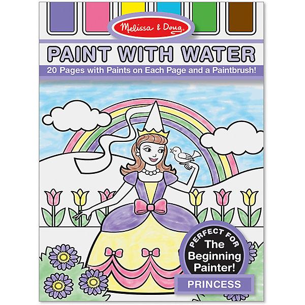 Рисуем водой ПринцессыРаскраски по номерам<br>Очаровательные принцессы ждут тебя! Просто добавь воды - и они предстанут перед тобой во всем своем великолепии! Необходимо окунуть кисточку в воду и провести по листу бумаги со специальным слоем, пропитанным краской. Постепенно начнет появляться цветное изображение. Раскрашивание - увлекательное и полезное занятие, в процессе которого ребенок тренирует мелкую моторику, развивает цветовосприятие, внимание, и, конечно, получает массу положительных эмоций. <br><br>Дополнительная информация:<br><br>- Материал: дерево, прессованный картон, ПВХ.<br>- Размер упаковки: 21х30 см. <br><br>Раскраску Рисуем водой Принцессы можно купить в нашем магазине.<br>Ширина мм: 300; Глубина мм: 210; Высота мм: 10; Вес г: 204; Возраст от месяцев: 36; Возраст до месяцев: 60; Пол: Женский; Возраст: Детский; SKU: 4407120;
