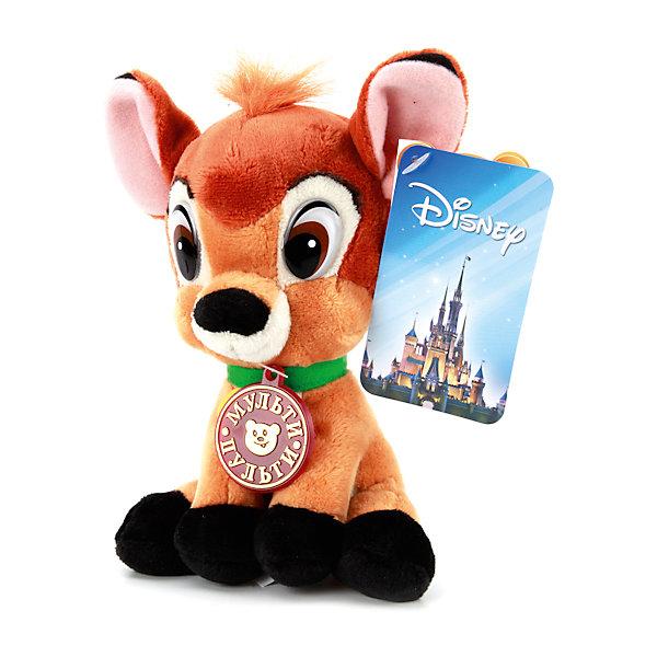 Мягкая игрушка Бемби 16см, Мульти-пультиМузыкальные мягкие игрушки<br>Очаровательный олененок Бемби порадует всех поклонников мультфильмов Disney. Он знает много веселых фраз, поэтому с ним никогда не будет скучно! Игрушка выполнена из высококачественных гипоаллергенны материалов, очень приятна наощупь, похожа на героя мультфильма. <br><br>Дополнительная информация:<br><br>- Материал: полиэстер, пластик, искусственный мех.<br>- Размер игрушки: 16 см.<br>- 6 фраз.<br>- Элемент питания: батарейки (в комплекте).<br><br>Мягкую игрушку Бемби 16см, Мульти-пульти , можно купить в нашем магазине.<br><br>Ширина мм: 390<br>Глубина мм: 380<br>Высота мм: 420<br>Вес г: 120<br>Возраст от месяцев: 36<br>Возраст до месяцев: 84<br>Пол: Унисекс<br>Возраст: Детский<br>SKU: 4408258