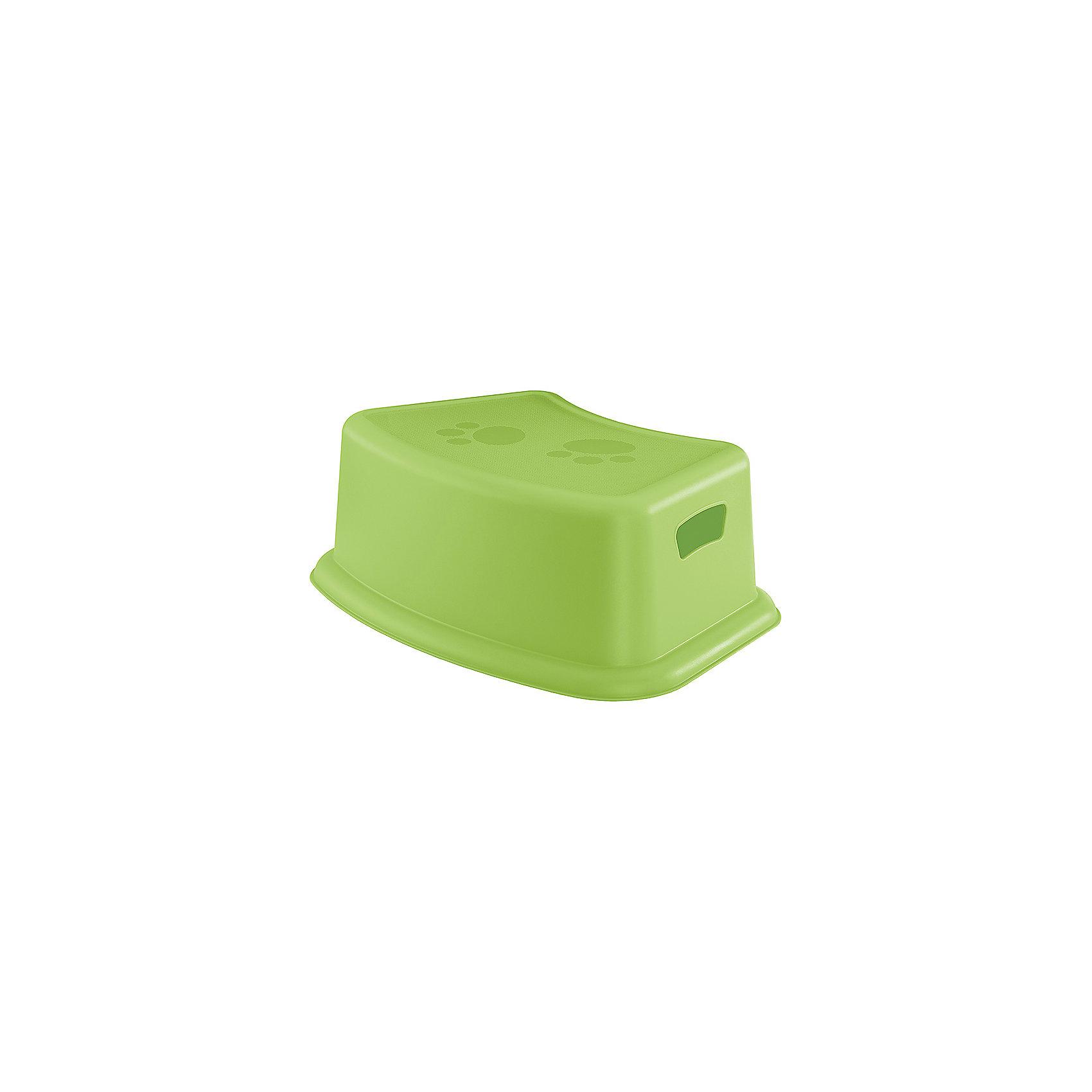 Подставка Пластишка, зеленыйПодставка Пластишка, зеленый - это незаменимый помощник для вашего малыша.<br>Прочная, легкая и удобная в переноске детская подставка - многофункциональный помощник для ребенка. Поможет дотянуться до раковины, унитаза, а также достать любимую игрушку с полки. Малыш сможет самостоятельно передвигать её с места на место, а также использовать как стульчик. Рифленая поверхность (антискользящая) обеспечит безопасность и удобство при использовании. Товар производится из экологически чистого сырья и безопасен для здоровья ребенка.<br><br>Дополнительная информация:<br><br>- Материал: полипропилен<br>- Цвет: зеленый<br>- Размер: 37,5 х 25 x 13 см.<br>- Вес: 345 гр.<br><br>Подставку Пластишка, зеленую можно купить в нашем интернет-магазине.<br><br>Ширина мм: 130<br>Глубина мм: 375<br>Высота мм: 250<br>Вес г: 600<br>Цвет: зеленый<br>Возраст от месяцев: 0<br>Возраст до месяцев: 24<br>Пол: Унисекс<br>Возраст: Детский<br>SKU: 4408461