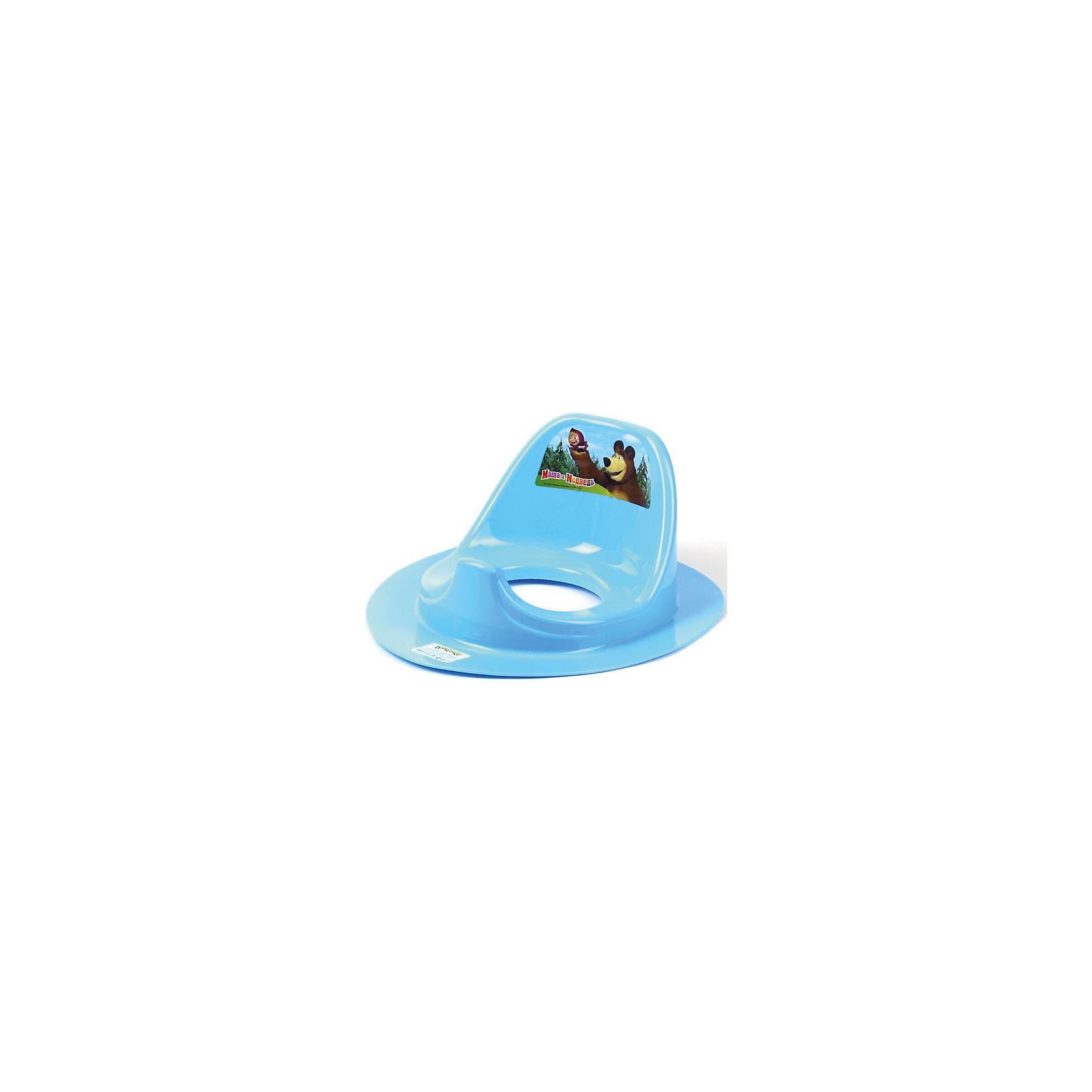 Пластишка Накладка на унитаз Маша и Медведь, Пластишка, пластишка горка для купания детей пластишка