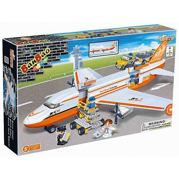 Конструктор Гражданская авиация, BanBaoПластмассовые конструкторы<br>Этот конструктор обязательно понравится мальчикам. С помощью него можно собрать настоящий пассажирский самолет, с трапом и множеством аксессуаров. Самолет имеет отличную детализацию и реалистичный внешний вид.<br>Конструирование - увлекательный и полезный процесс, развивающий мелкую моторику, мышление и фантазию. Все детали конструктора выполнены из высококачественного экологичного пластика, имеют идеально гладкую поверхность и прочно крепятся друг к другу. Прекрасный вариант для подарка на любой праздник.<br><br>Дополнительная информация:<br><br>- Конструктор развивает усидчивость, внимание, фантазию и мелкую моторику.<br>- Материал: пластик.<br>- Комплектация: 5 фигурок, детали конструктора.<br>- Винты у самолета крутятся.<br>- Количество деталей: 660<br>- Размер упаковки: 53 х 35 х 7 см.<br>- Вес конструктора: 1,85 гр.<br><br>Конструктор Гражданская авиация, BanBao (БанБао), можно купить в нашем магазине.<br><br>Ширина мм: 530<br>Глубина мм: 350<br>Высота мм: 70<br>Вес г: 1850<br>Возраст от месяцев: 60<br>Возраст до месяцев: 144<br>Пол: Мужской<br>Возраст: Детский<br>SKU: 4411848