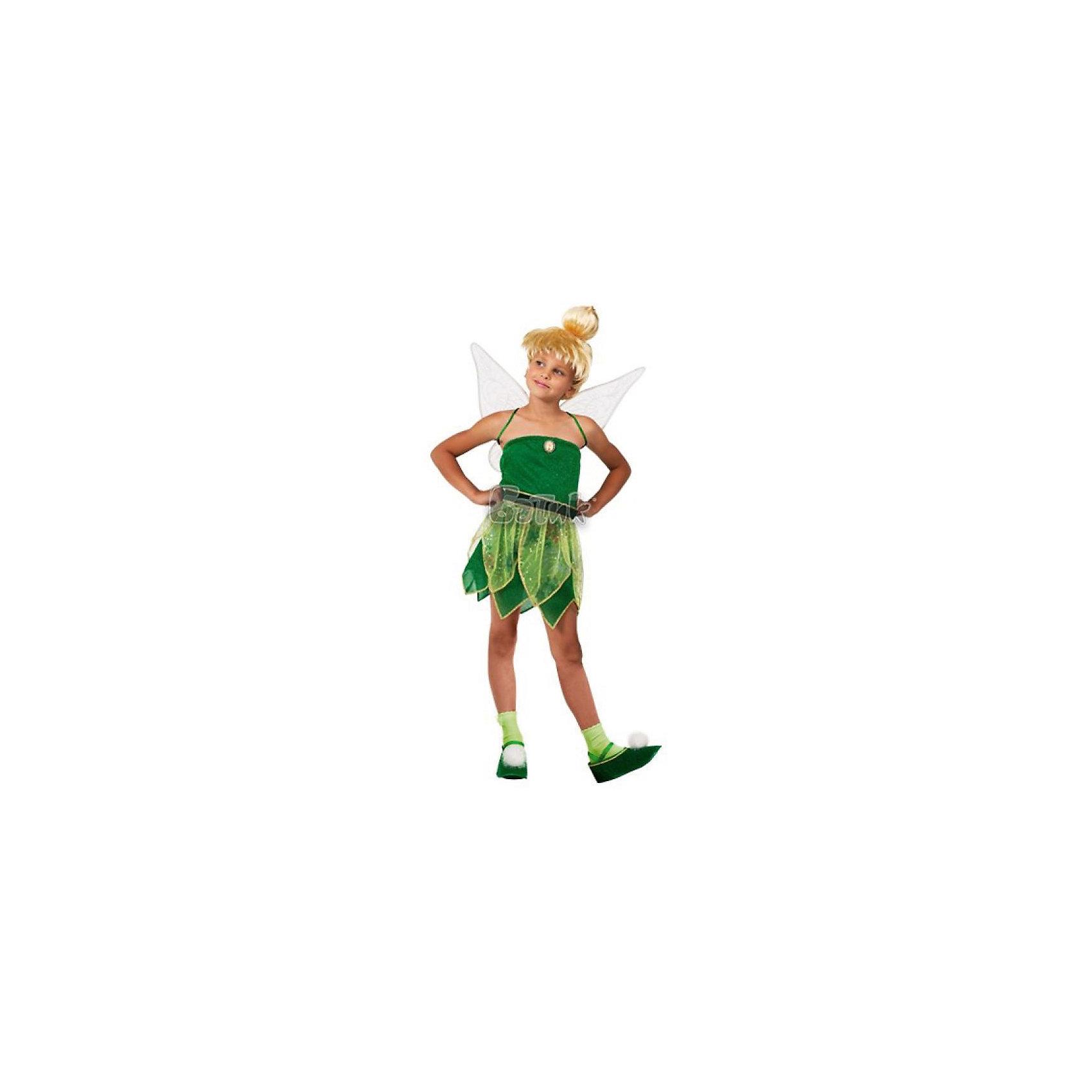 Батик Карнавальный костюм Фея Динь-Динь, Батик костюм феи динь динь зеленый 46 48