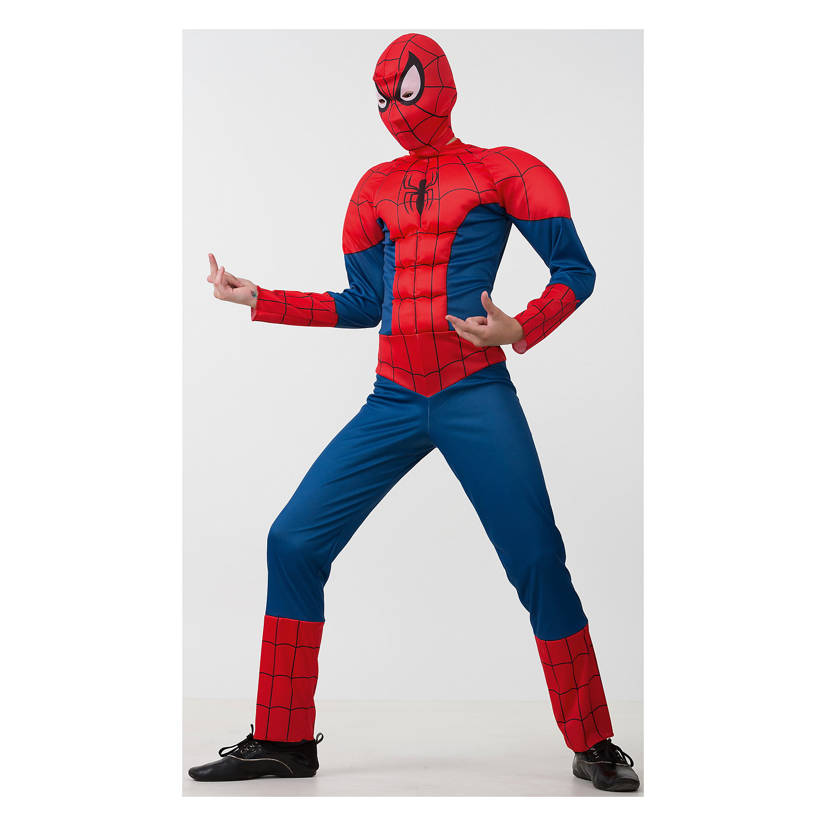 Карнавальный костюм Человек Паук, БатикМаски и карнавальные костюмы<br>Этот костюм приведет в восторг любого мальчишку! Наряд состоит из маски и удобного комбинезона с рельефными вставками, изображающими мышцы. Дети обожают перевоплощаться, позвольте вашему ребенку почувствовать себя королем вечера и получить настоящее удовольствие от самого волшебного праздника в году! Костюм выполнен из высококачественных экологичных материалов, в производстве ткани использованы только безопасные, гипоаллергенные красители.<br><br>Дополнительная информация:<br><br>- Материал: текстиль, пластик.<br>- Цвет: красный, синий.<br>- Комплектация: комбинезон, маска.<br>- Параметры для размера 32:<br>- обхват груди: 64 см.<br>- рост: 122 см.<br>  <br>Карнавальный костюм Человек Паук (Spider Man), Батик  можно купить в нашем магазине.<br><br>Ширина мм: 500<br>Глубина мм: 50<br>Высота мм: 700<br>Вес г: 600<br>Цвет: разноцветный<br>Возраст от месяцев: 60<br>Возраст до месяцев: 72<br>Пол: Мужской<br>Возраст: Детский<br>Размер: 30,28<br>SKU: 4412725