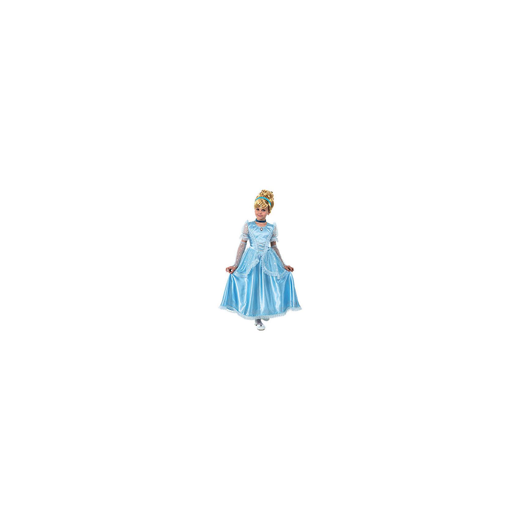 Карнавальный костюм Принцесса Золушка, БатикКаждая девочка мечтает стать сказочной принцессой. Ваша малышка придет в восторг от этого прекрасного наряда, состоящего из роскошного голубого платья с рюшами, длинных изысканных перчаток и небольшой короны. Позвольте девочке почувствовать себя королевой вечера и получить настоящее удовольствие от самого волшебного праздника в году! Костюм выполнен из высококачественных экологичных материалов, в производстве ткани использованы только безопасные, гипоаллергенные красители.<br><br>Дополнительная информация:<br><br>- Материал: текстиль, пластик.<br>- Цвет: голубой.<br>- Комплектация: платье, перчатки, корона. <br>- Декоративные элементы: рюши.<br>- Параметры для размера 30:<br>- обхват груди: 60 см.<br>- рост: 116 см.<br><br>Карнавальный костюм Принцесса Золушка, Батик, можно купить в нашем магазине.<br><br>Ширина мм: 500<br>Глубина мм: 50<br>Высота мм: 700<br>Вес г: 600<br>Цвет: разноцветный<br>Возраст от месяцев: 72<br>Возраст до месяцев: 96<br>Пол: Женский<br>Возраст: Детский<br>Размер: 28<br>SKU: 4412741