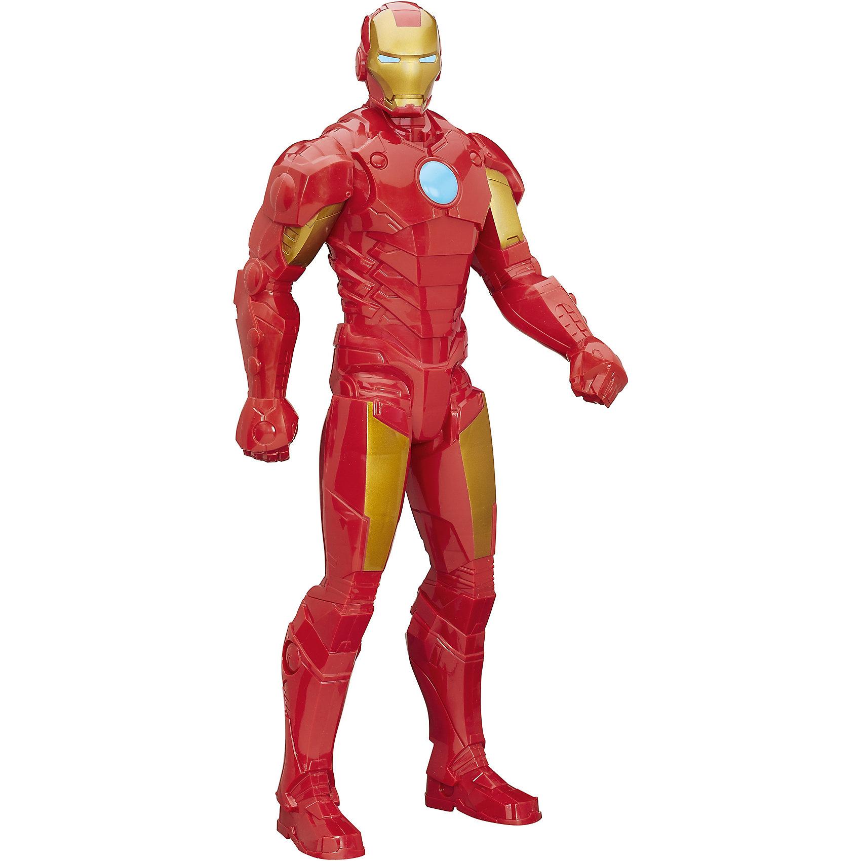 Титаны XL: Фигурка Железного ЧеловекаИгрушки<br>Большая фигурка Железного Человека обязательно понравится мальчишкам! Игрушка выполнена из высококачественного прочного пластика, имеет подвижные руки и голову. Фигурка прекрасно детализирована и очень похожа на персонажа комиксов Марвел (Marvel). <br><br>Дополнительная информация:<br><br>- Материал: пластик.<br>- Размер: 50 см. <br><br>Титаны XL: Фигурка Железного Человека (Iron Man) можно купить в нашем магазине.<br><br>Ширина мм: 102<br>Глубина мм: 203<br>Высота мм: 506<br>Вес г: 709<br>Возраст от месяцев: 48<br>Возраст до месяцев: 192<br>Пол: Мужской<br>Возраст: Детский<br>SKU: 4413253