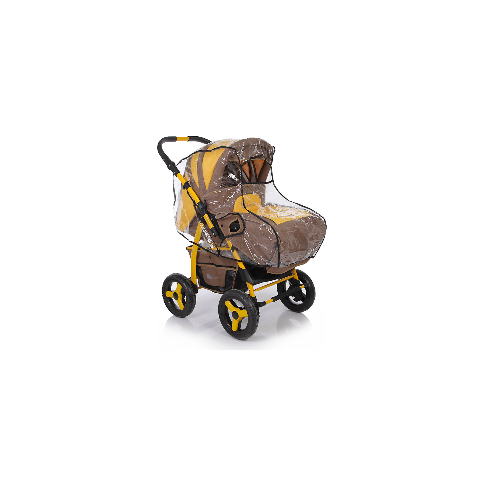 Дождевик для колясок Universal с перекидной ручкой  ПВХ, Baby Care