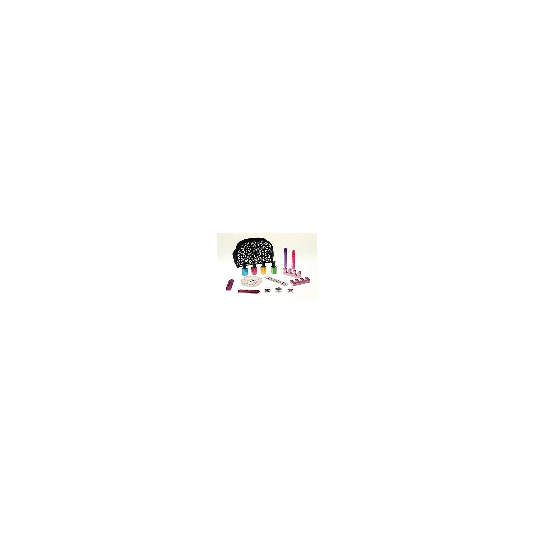 Сверкающий маникюр, CreativeНаборы детской косметики<br>Набор для творчества Сверкающий маникюр, Creative, познакомит девочку с модной профессией стилиста и поможет создать свой собственный дизайн ногтей. В комплекте Вы найдете все необходимые принадлежности, чтобы красиво накрасить ногти и придумать свой неповторимый стиль маникюра: флакончики с разноцветным лаком, бисер, блестки и другие полезные инструменты. Выберите нужные цвета лаков, нанесите задуманный узор на ногти и в завершении украсьте на выбор стразами, жемчужным бисером или блестками. Лаки для ногтей имеют щадящую формулу и не оказывают разрушительного воздействия на ногтевую пластину. Удобные приспособления, такие как разделитель для пальцев и блюдце с отделениями сделают процесс проще и аккуратнее. В комплект также входит модная косметичка - раскрасьте ее маркерами и повсюду носите с собой. Набор развивает творческие способности, фантазию и художественный вкус.<br><br>Дополнительная информация:<br><br>- В комплекте: косметичка, лак (4 цвета), пилочка для ногтей, стразы, бисер, блестки, блюдце с отделениями, кисточка, разделитель для пальцев, маркеры для ткани, инструкция.<br>- Материал: пластик, текстиль.<br>- Размер упаковки: 25 х 6 х 26 см.<br>- Вес: 0,438 кг<br><br>Сверкающий маникюр, Creative, можно купить в нашем интернет-магазине.<br><br>Ширина мм: 255<br>Глубина мм: 250<br>Высота мм: 60<br>Вес г: 438<br>Возраст от месяцев: 84<br>Возраст до месяцев: 180<br>Пол: Женский<br>Возраст: Детский<br>SKU: 4415311
