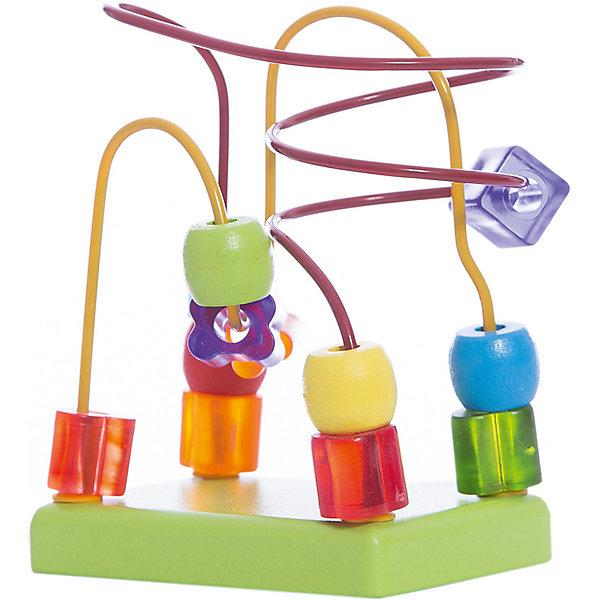 Деревянный лабиринт Alatoys СалатовыйРазвивающие игрушки<br>Характеристики:<br><br>• возраст: от 1 года<br>• материал: древесина (береза), металл<br>• размер упаковки: 21х15х7 см.<br>• вес: 204 гр.<br><br>Лабиринт «Салатовый» - правильная игрушка, которая должна быть у каждого малыша.<br><br>Лабиринт представляет собой платформу, над которой закручены 2 нити лабиринта с нанизанными фигурками различных форм. Задача ребенка — перемещать данные фигурки с одной стороны лабиринта на другую. Такая игра развивает мелкую моторику и логическое мышление.<br><br>Элементы лабиринта изготовлены из цельной древесины березы, тщательно отшлифованы, покрыты нетоксичными акриловыми красками, безопасными для здоровья малыша. Лабиринт не потеряет привлекательный вид, даже если играть с ним каждый день.<br><br>ALATOYS ЛБ1023 Лабиринт Салатовый можно купить в нашем интернет-магазине.<br><br>Ширина мм: 210<br>Глубина мм: 150<br>Высота мм: 70<br>Вес г: 204<br>Возраст от месяцев: 12<br>Возраст до месяцев: 48<br>Пол: Унисекс<br>Возраст: Детский<br>SKU: 4415356