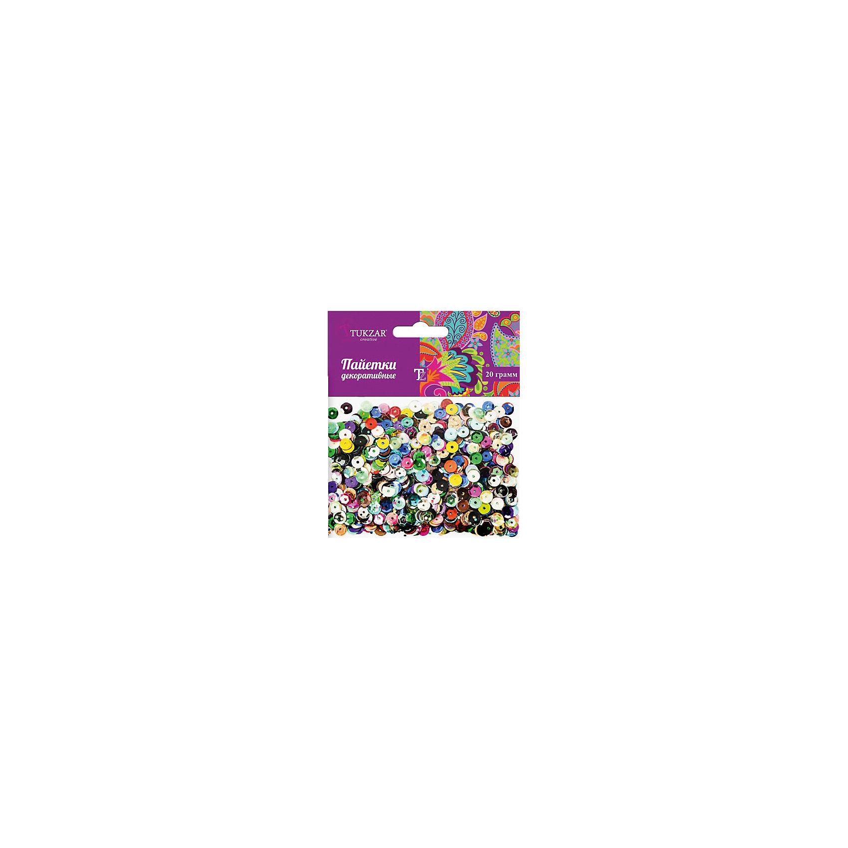 Разноцветные пайетки 20гРазноцветные пайетки 20г<br>Разноцветные декоративные пайетки позволят изыскано украсить любую вещь, идеальны для декора сценических костюмов, создания стилизованной одежды.<br><br>Дополнительная информация:<br><br>- В наборе: разноцветные пайетки<br>- Диаметр пайеток: 6 мм.<br>- Размер упаковки: 10 x 1 х 10 см.<br>- Вес: 20 гр.<br><br>Разноцветные пайетки 20г можно купить в нашем интернет-магазине.<br><br>Ширина мм: 125<br>Глубина мм: 10<br>Высота мм: 110<br>Вес г: 21<br>Возраст от месяцев: 60<br>Возраст до месяцев: 2147483647<br>Пол: Женский<br>Возраст: Детский<br>SKU: 4416900