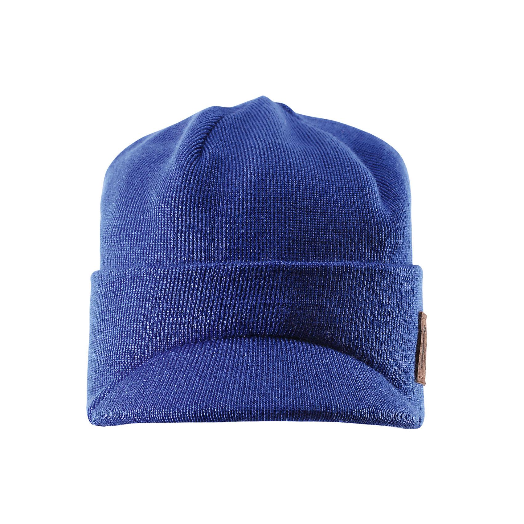 Шапка для мальчика ReimaШапки и шарфы<br>Эта модная зимняя шапочка-бини в непринуждённом стиле для детей и подростков связана из смеси тёплой шерсти. Она идеально подходит для поздней осени, когда начинает холодать. Зимой эту шапочку можно поддевать под более тёплую и толстую шапку-бини. Подкладка связана из того же материала, сочетающего разные виды шерсти. Ветронепроницаемые вставки в области ушей и стильный козырёк станут дополнительной защитой. Может эта шапочка-бини станет вашей любимой этой осенью?<br><br>Дополнительная информация:<br><br>Материал: 5-% шерсть, 50% акрил<br>Шапочка-бини для детей и подростков связана из сочетания разных видов тёплой шерсти<br>Полностью на подкладке из того же материала<br>Стильный защитный козырёк<br>Ветронепроницаемые вставки в области ушей<br><br>Шапку для мальчика Reima (Рейма) можно купить в нашем магазине.<br><br>Ширина мм: 89<br>Глубина мм: 117<br>Высота мм: 44<br>Вес г: 155<br>Цвет: синий<br>Возраст от месяцев: 96<br>Возраст до месяцев: 120<br>Пол: Мужской<br>Возраст: Детский<br>Размер: 56,54,52,50<br>SKU: 4417119