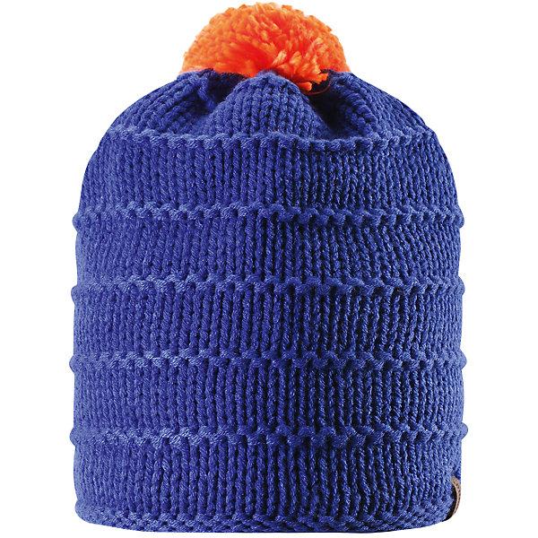 Шапка для мальчика ReimaШапки и шарфы<br>Эта зимняя детская шапка из тёплой, толстой, высококачественной акриловой пряжи станет модным выбором для зимних прогулок. В этой шапке с подкладкой из мягкого, тёплого флиса ребёнок не замёрзнет в холодные зимние месяцы. Простой в уходе акрил отлично контролирует температуру. Ветронепроницаемые вставки в области ушей защищают маленькие ушки от холодного ветра, поэтому маленьким искателям приключений будет тепло и комфортно. Уютная модель весёлой расцветки легко сочетается с разной одеждой, а помпон контрастного цвета делает образ неповторимым.<br><br>Дополнительная информация:<br><br>Зимняя шапка для детей и подростков<br>Тёплая, толстая, высококачественная пряжа<br>Мягкая, тёплая подкладки из флиса<br>Ветронепроницаемые вставки в области ушей<br>Состав: 100% акрил<br><br>Шапку для мальчика от популярного финского бренда Reima можно купить в нашем магазине.<br>Ширина мм: 89; Глубина мм: 117; Высота мм: 44; Вес г: 155; Цвет: синий; Возраст от месяцев: 120; Возраст до месяцев: 144; Пол: Мужской; Возраст: Детский; Размер: 58,56,54,52; SKU: 4417222;
