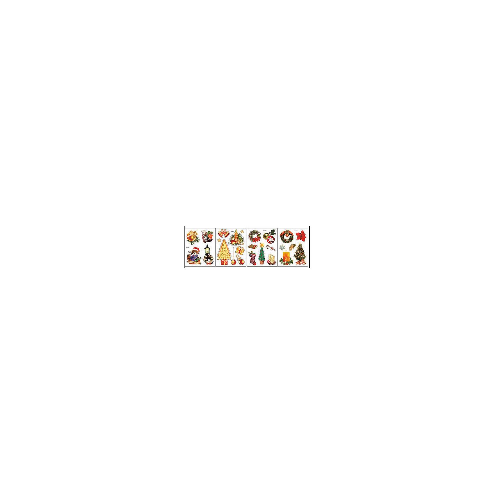 Наклейка на стекло Узоры 19,5*13,6 см, Marko FerenzoНаклейка на стекло Узоры замечательно украсит Ваш интерьер и создаст праздничное новогоднее настроение. В комплекте несколько красочных наклеек с изображениями нарядных елочек, игрушек, рождественских веночков и других новогодних атрибутов. Прочно крепятся к стеклу с помощью прозрачной клейкой пленки, на которую нанесены рисунки. В ассортименте наклейки с разным дизайном.<br><br>Дополнительная информация:<br><br>- Материал: ПВХ пленка.<br>- Размер упаковки: 19,5 х 13,6 х 0,3 см. <br>- Вес: 177 гр. <br><br>Наклейку на стекло Узоры, Marko Ferenzo, можно купить в нашем интернет-магазине.<br><br>Ширина мм: 195<br>Глубина мм: 136<br>Высота мм: 3<br>Вес г: 177<br>Возраст от месяцев: 36<br>Возраст до месяцев: 2147483647<br>Пол: Унисекс<br>Возраст: Детский<br>SKU: 4418858