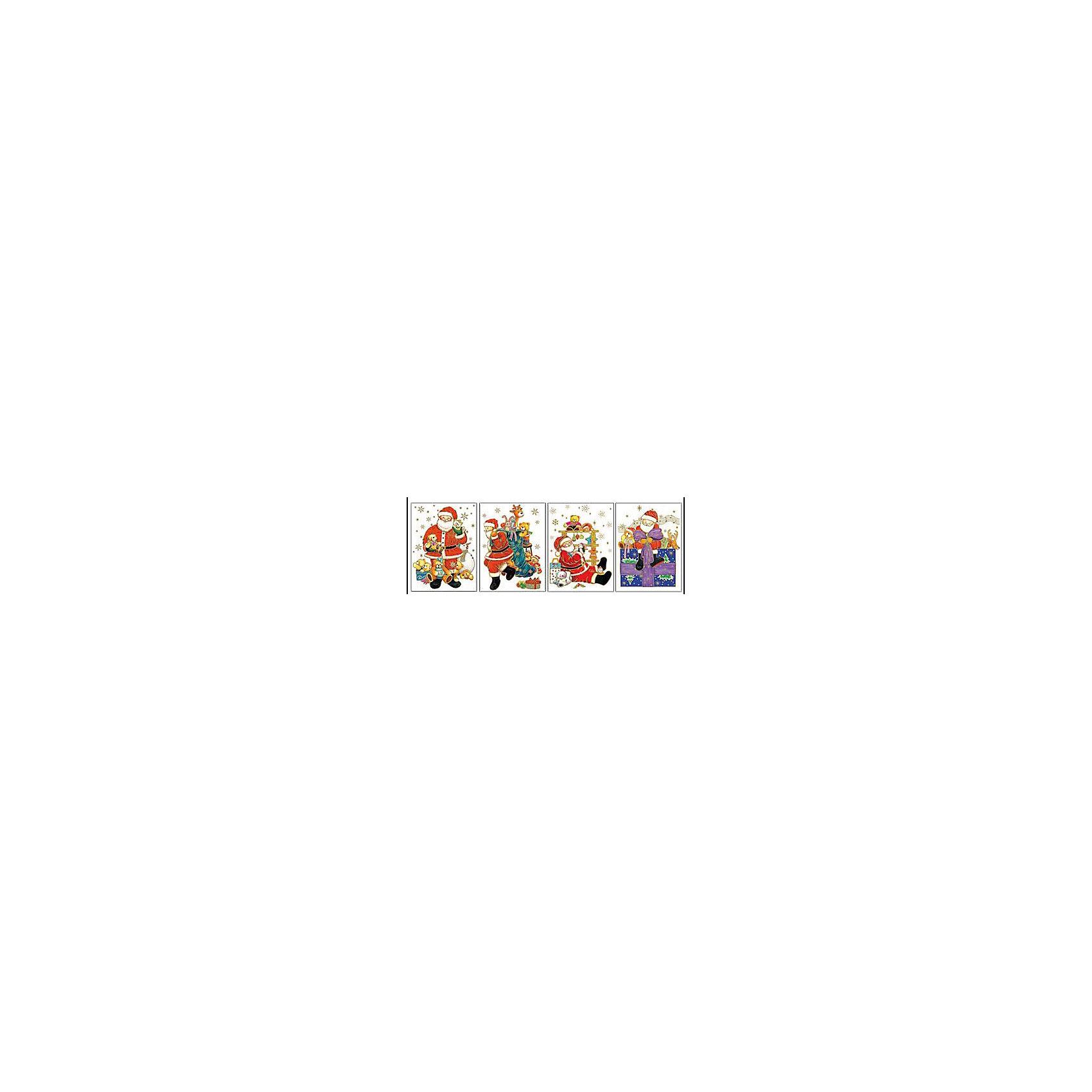 Наклейка на стекло Дед Мороз с подарками 30*20 смВсё для праздника<br>Наклейка на стекло Дед Мороз с подарками замечательно украсит Ваш интерьер и создаст праздничное новогоднее настроение. Красочная наклейка выполнена в виде изображения Деда Мороза с подарками. Прочно крепится к стеклу с помощью прозрачной клейкой пленки. В ассортименте наклейки с разным дизайном.<br><br>Дополнительная информация:<br><br>- Материал: ПВХ пленка.<br>- Размер упаковки: 20 х 30 х 1,8 см. <br>- Вес: 287 гр. <br><br>ВНИМАНИЕ! Данный артикул представлен в разных вариантах исполнения. К сожалению заранее выбрать определенный вариант невозможно. При заказе нескольких наклеек возможно получение одинаковых.<br><br>Наклейку на стекло Дед Мороз с подарками, Marko Ferenzo, можно купить в нашем интернет-магазине.<br><br>Ширина мм: 200<br>Глубина мм: 300<br>Высота мм: 18<br>Вес г: 287<br>Возраст от месяцев: 36<br>Возраст до месяцев: 2147483647<br>Пол: Унисекс<br>Возраст: Детский<br>SKU: 4418859
