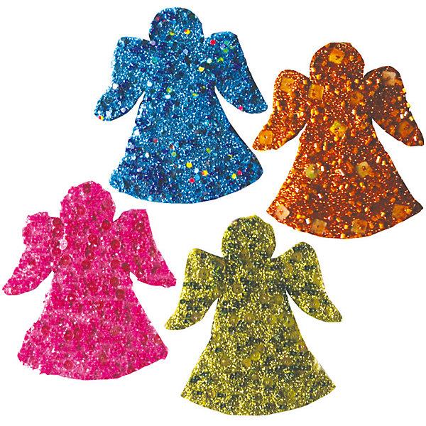 набор украшений АНГЕЛ, 10,5 см, 4 шт, розов, салатов, бирюза, оранжевЁлочные игрушки<br>Характеристики:<br><br>• тип игрушки: елочное украшение;<br>• цвет: ассорти;<br>• размер: 15х11х2 см;<br>• количество: 4 шт;<br>• бренд: Marko Ferenzo;<br>• возраст: от 3 лет;<br>• вес: 35 гр;<br>• материал: пластик.<br><br>Набор украшений «Ангел» 10,5 см, 4 шт (розов, салатов, бирюза, оранжев )станет отличным дополнением к новогодним украшениям елки или интерьера дома к праздникам. Такое украшение станет актуальным подарком, который позволит заранее подготовиться к празднованию Нового года. С помощью него ребенок сможет сам поучаствовать в подготовке к празднику и украсить дом.<br><br>Эту игрушку из набора  4 шт. может использовать ребенок от трех лет. Елочное украшение от бренда Marko Ferenzo представляет собой четыре ангела небольшого размера разных цветов.  Они усыпаны блестками и при попадании света «играют» на елке. Пластиковое изделие  практически невесомое. Размер – 10,5 см.  <br><br>Набор можно использовать для украшения новогодней елки или как элемент декора. Использование игрушек такого типа позволяет ребенку проявить свои творческие способности, пофантазировать или раскрыть талант. Все элементы  являются абсолютно безопасными для ребенка и изготовлены из высококачественных материалов.<br><br>Набор украшений «Ангел» 10,5 см, 4 шт (розов, салатов, бирюза, оранжев ) можно купить в нашем интернет-магазине.<br><br>Ширина мм: 150<br>Глубина мм: 110<br>Высота мм: 20<br>Вес г: 35<br>Возраст от месяцев: 36<br>Возраст до месяцев: 2147483647<br>Пол: Унисекс<br>Возраст: Детский<br>SKU: 4418864