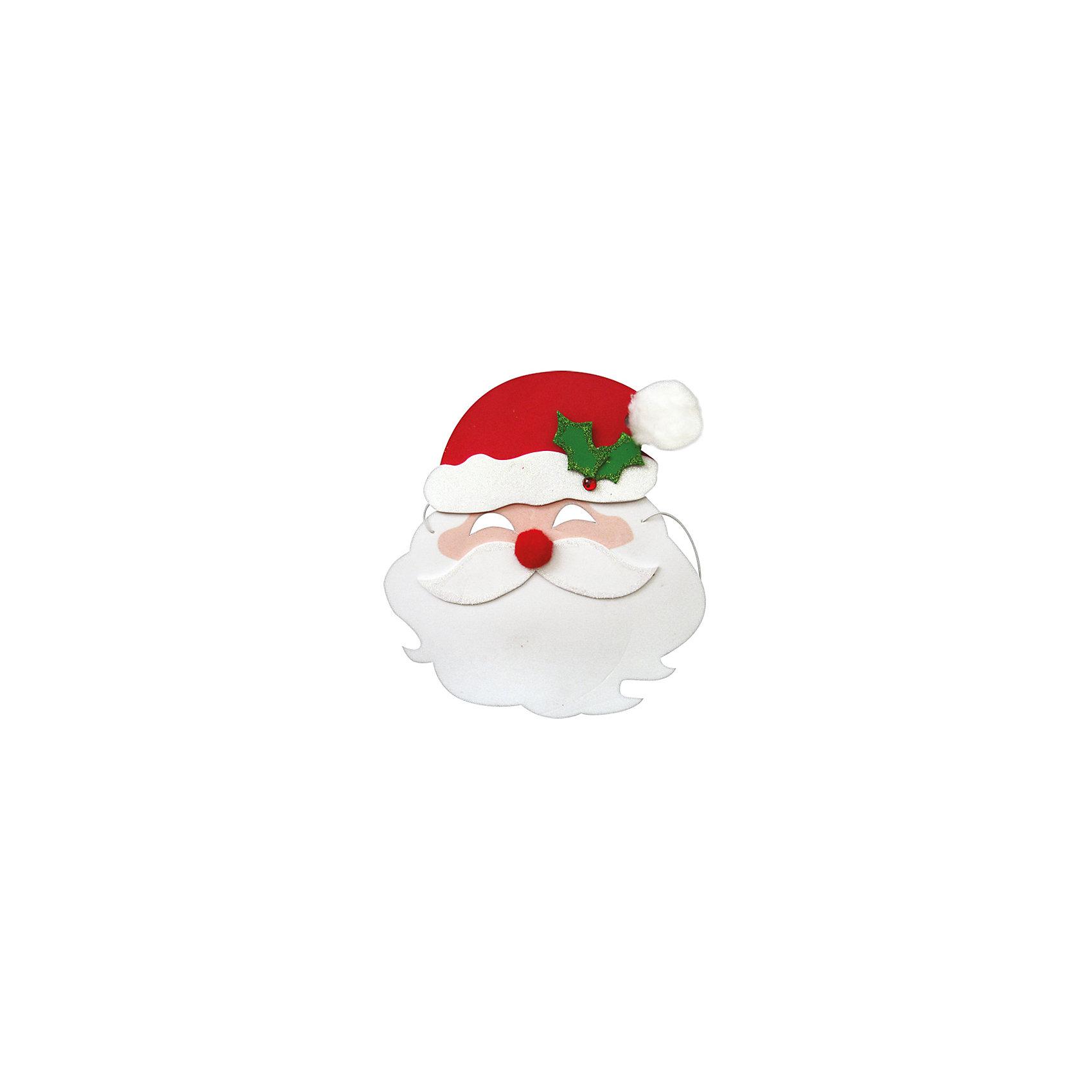 Маска Дед Мороз, Marko FerenzoМаска Дед Мороз, Marko Ferenzo, замечательно украсит карнавальный костюм Вашего ребенка. Маска выполнена в виде Деда Мороза с белой бородой и в красном колпачке. Надев ее, маленький участник праздника легко перевоплощается в любимого зимнего персонажа. Маска изготовлена из мягкого безопасного пластика, фиксируется с помощью резинки.<br><br> Дополнительная информация:<br><br>- Материал: пластик.<br>- Размер маски: 20 х 22 см.<br>- Размер упаковки: 19 х 12 х 4 см.<br>- Вес: 30 гр.<br><br>Маску Дед Мороз, Marko Ferenzo, можно купить в нашем интернет-магазине.<br><br>Ширина мм: 100<br>Глубина мм: 10<br>Высота мм: 100<br>Вес г: 250<br>Возраст от месяцев: 36<br>Возраст до месяцев: 2147483647<br>Пол: Унисекс<br>Возраст: Детский<br>SKU: 4418865