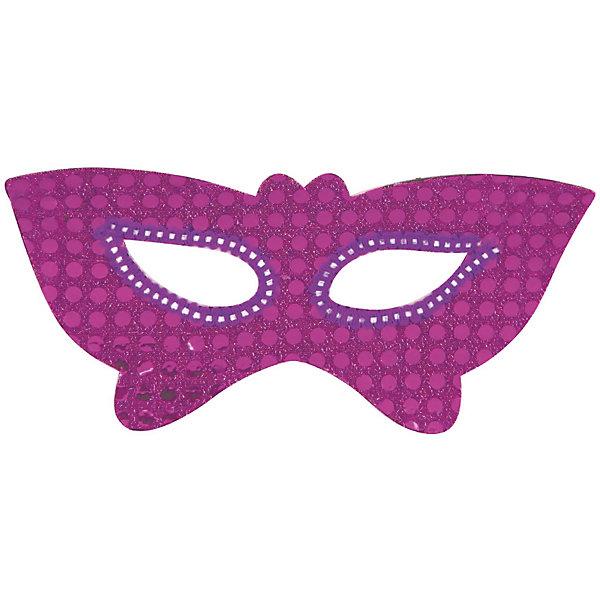 Маска-очки Бабочки, Marko FerenzoДетские карнавальные маски<br>Маска-очки Бабочки, Marko Ferenzo, замечательно украсит карнавальный костюм Вашей девочки. Маска красивого сиреневого цвета выполнена в виде крыльев бабочки и декорирована блестящим пайетками. Изготовлена из мягкого безопасного пластика.<br><br> Дополнительная информация:<br><br>- Цвет: сирень.<br>- Материал: пластик.<br>- Размер: 18 х 6,5 х 10 см.<br>- Вес: 100 гр.<br><br>Маску-очки Бабочки, Marko Ferenzo, можно купить в нашем интернет-магазине.<br><br>Ширина мм: 180<br>Глубина мм: 65<br>Высота мм: 100<br>Вес г: 100<br>Возраст от месяцев: 36<br>Возраст до месяцев: 2147483647<br>Пол: Унисекс<br>Возраст: Детский<br>SKU: 4418866