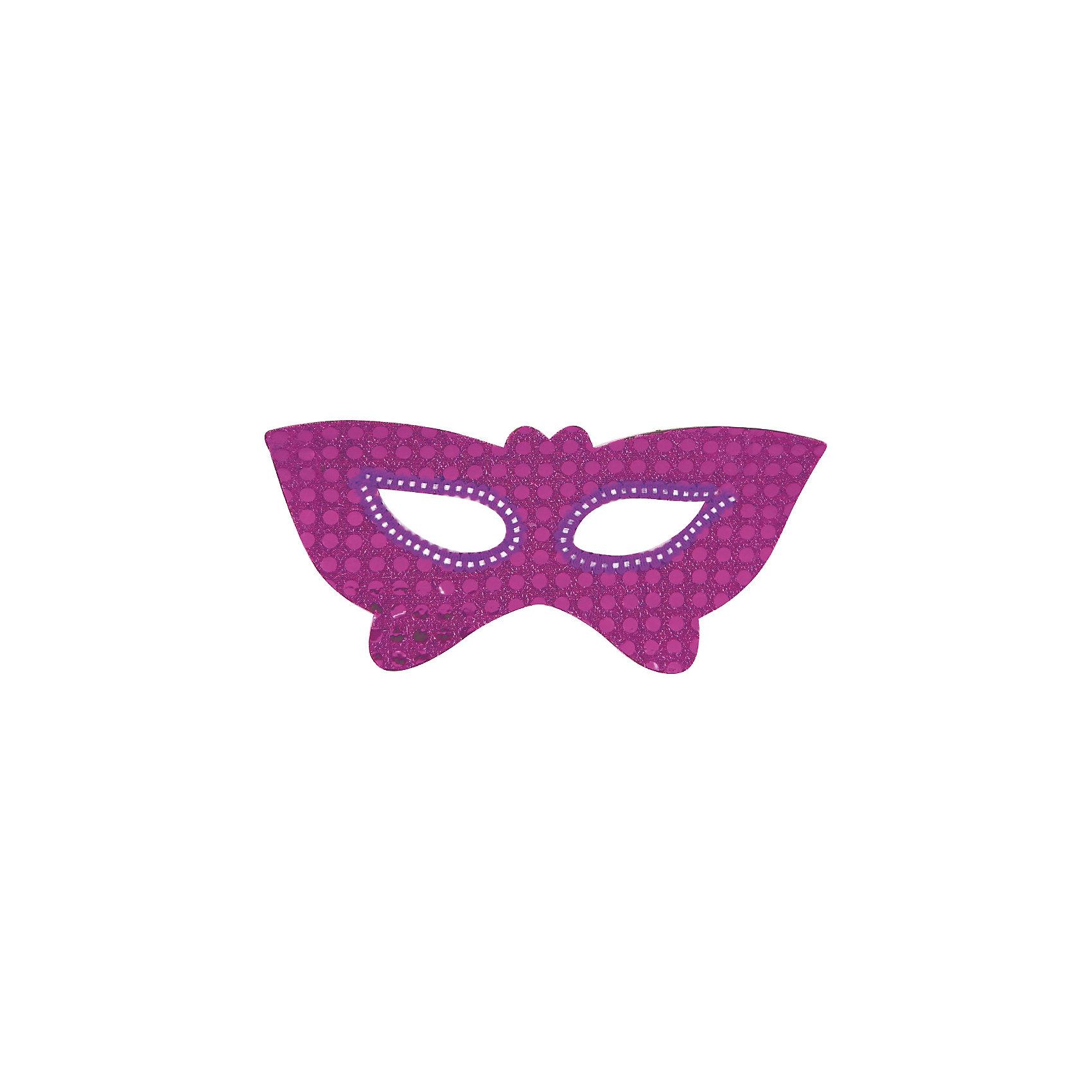 Маска-очки Бабочки, Marko FerenzoКарнавальные костюмы и аксессуары<br>Маска-очки Бабочки, Marko Ferenzo, замечательно украсит карнавальный костюм Вашей девочки. Маска красивого сиреневого цвета выполнена в виде крыльев бабочки и декорирована блестящим пайетками. Изготовлена из мягкого безопасного пластика.<br><br> Дополнительная информация:<br><br>- Цвет: сирень.<br>- Материал: пластик.<br>- Размер: 18 х 6,5 х 10 см.<br>- Вес: 100 гр.<br><br>Маску-очки Бабочки, Marko Ferenzo, можно купить в нашем интернет-магазине.<br><br>Ширина мм: 180<br>Глубина мм: 65<br>Высота мм: 100<br>Вес г: 100<br>Возраст от месяцев: 36<br>Возраст до месяцев: 2147483647<br>Пол: Унисекс<br>Возраст: Детский<br>SKU: 4418866