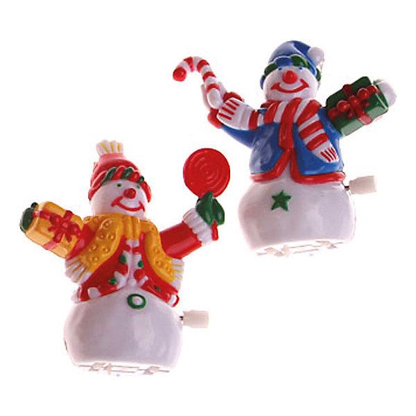 Заводная игрушка СнеговишкаЁлочные игрушки<br>Заводная игрушка Снеговишка, Marko Ferenzo, станет замечательным украшением Вашего новогоднего интерьера и приятным сувениром для родных и друзей. Игрушка выполнена в виде забавного снеговика в ярком кафтане и шапочке, заводится механически с помощью рычажка с боковой стороны туловища. Поставленный под елку веселый снеговичок порадует и взрослых и детей и поможет создать волшебную атмосферу новогодних праздников.<br><br>Дополнительная информация:<br><br>- Материал: пластик. <br>- Размер фигурки: 10 см.<br>- Вес: 318 гр. <br><br>Заводную игрушку Снеговишка, Marko Ferenzo, можно купить в нашем интернет-магазине.<br><br>Ширина мм: 100<br>Глубина мм: 10<br>Высота мм: 100<br>Вес г: 318<br>Возраст от месяцев: 36<br>Возраст до месяцев: 2147483647<br>Пол: Унисекс<br>Возраст: Детский<br>SKU: 4418901
