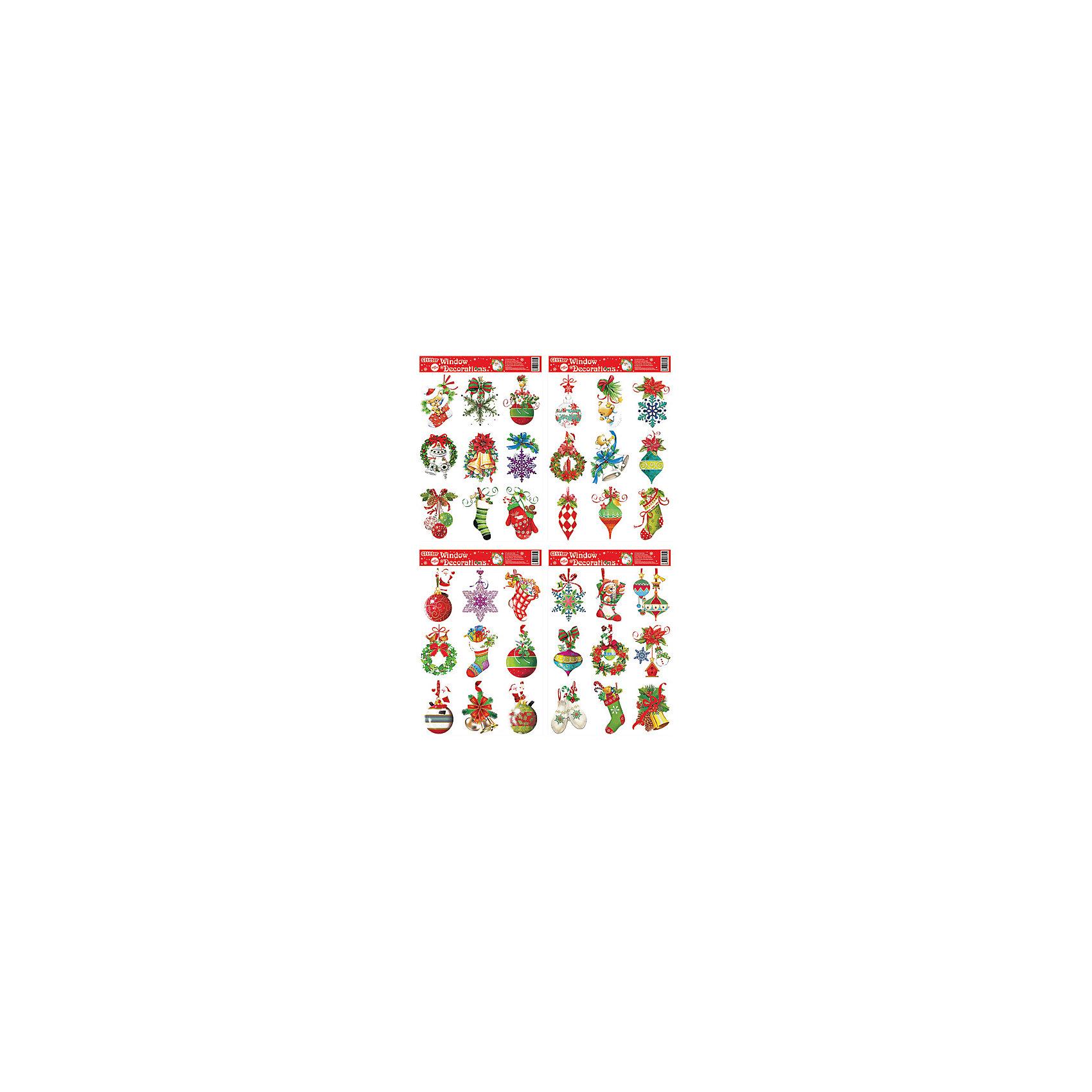 Наклейка Праздник 20*30 см, в ассортиментеНаклейка Праздник 20*30 см, в ассортименте - этот новогодний стикер создаст праздничную атмосферу.<br>Наклейка Праздник– это отличное украшение для декорирования стен, дверей и мебели. Наклейка с изображениями новогодних атрибутов поможет украсить ваш дом или офис и придаст им сказочный и волшебный вид. Устройте настоящий праздник. Пусть он сопровождает вас повсюду.<br><br>Дополнительная информация:<br><br>- В ассортименте: 4 вида<br>- Полноцветная двухсторонняя печать, глиттер<br>- Размер: 20х30 см.<br>- ВНИМАНИЕ! Данный артикул представлен в разных вариантах исполнения. К сожалению, заранее выбрать определенный вариант невозможно. При заказе нескольких наклеек возможно получение одинаковых<br><br>Наклейку Праздник 20*30 см, в ассортименте можно купить в нашем интернет-магазине.<br><br>Ширина мм: 200<br>Глубина мм: 300<br>Высота мм: 18<br>Вес г: 295<br>Возраст от месяцев: 36<br>Возраст до месяцев: 2147483647<br>Пол: Унисекс<br>Возраст: Детский<br>SKU: 4418934