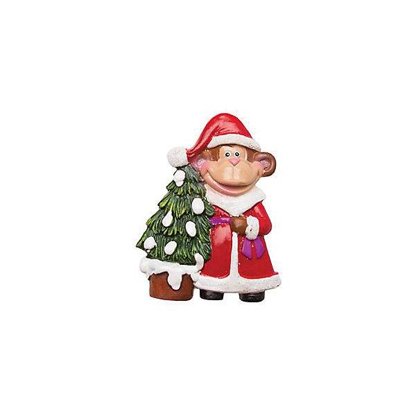 Магнит Обезьянка с пожеланиемНовогодние сувениры<br>Магнит Обезьянка с пожеланием – это замечательный и актуальный новогодний подарок для всех!<br>Магнит Обезьянка с пожеланием станет приятным сувениром для родных и друзей, а также прекрасным украшением любой плоской металлической поверхности в доме. Забавная обезьянка представлена в образе Деда Мороза, сзади у фигурки имеется магнитное крепление. Обезьянка - символ 2016 года принесет Вам удачу и поднимет настроение.<br><br>Дополнительная информация:<br><br>- Размер: 7,2 см.<br>- Материал: полистоун<br><br>Магнит Обезьянка с пожеланием можно купить в нашем интернет-магазине.<br>Ширина мм: 100; Глубина мм: 10; Высота мм: 100; Вес г: 295; Возраст от месяцев: 36; Возраст до месяцев: 2147483647; Пол: Унисекс; Возраст: Детский; SKU: 4418948;
