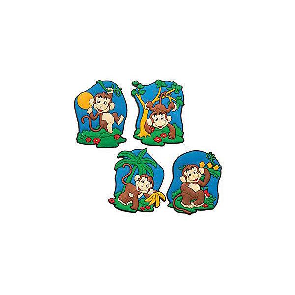 Магнит Веселая обезьянкаНовогодние сувениры<br>Магнит Веселая обезьянка – это замечательный и актуальный новогодний подарок для всех!<br>Магнит Веселая обезьянка воплощает символ 2016 года, станет отличным презентом коллеге и другу, а также прекрасным украшением любой плоской металлической поверхности в доме. Магнит с изображением озорной, очаровательно улыбающейся обезьянки принесет удачу и поднимет настроение.<br><br>Дополнительная информация:<br><br>- В ассортименте 4 вида<br>- Размер: 6 см.<br>- Материал: поливинилхлорид<br>- ВНИМАНИЕ! Данный артикул представлен в разных вариантах исполнения. К сожалению, заранее выбрать определенный вариант невозможно. При заказе нескольких магнитов возможно получение одинаковых<br><br>Магнит Веселая обезьянка можно купить в нашем интернет-магазине.<br><br>Ширина мм: 100<br>Глубина мм: 10<br>Высота мм: 100<br>Вес г: 130<br>Возраст от месяцев: 36<br>Возраст до месяцев: 2147483647<br>Пол: Унисекс<br>Возраст: Детский<br>SKU: 4418954