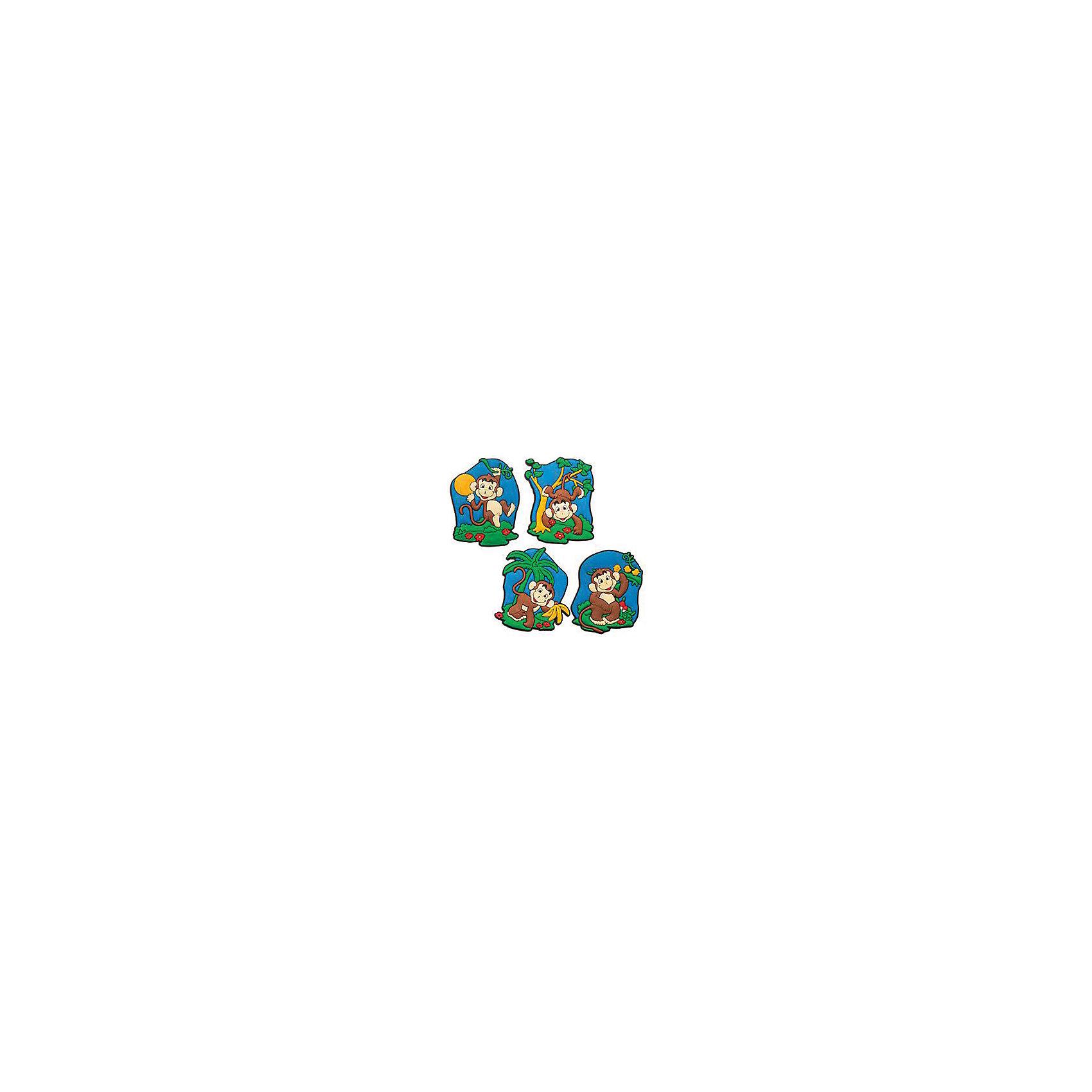 Магнит Веселая обезьянкаВсё для праздника<br>Магнит Веселая обезьянка – это замечательный и актуальный новогодний подарок для всех!<br>Магнит Веселая обезьянка воплощает символ 2016 года, станет отличным презентом коллеге и другу, а также прекрасным украшением любой плоской металлической поверхности в доме. Магнит с изображением озорной, очаровательно улыбающейся обезьянки принесет удачу и поднимет настроение.<br><br>Дополнительная информация:<br><br>- В ассортименте 4 вида<br>- Размер: 6 см.<br>- Материал: поливинилхлорид<br>- ВНИМАНИЕ! Данный артикул представлен в разных вариантах исполнения. К сожалению, заранее выбрать определенный вариант невозможно. При заказе нескольких магнитов возможно получение одинаковых<br><br>Магнит Веселая обезьянка можно купить в нашем интернет-магазине.<br><br>Ширина мм: 100<br>Глубина мм: 10<br>Высота мм: 100<br>Вес г: 130<br>Возраст от месяцев: 36<br>Возраст до месяцев: 2147483647<br>Пол: Унисекс<br>Возраст: Детский<br>SKU: 4418954