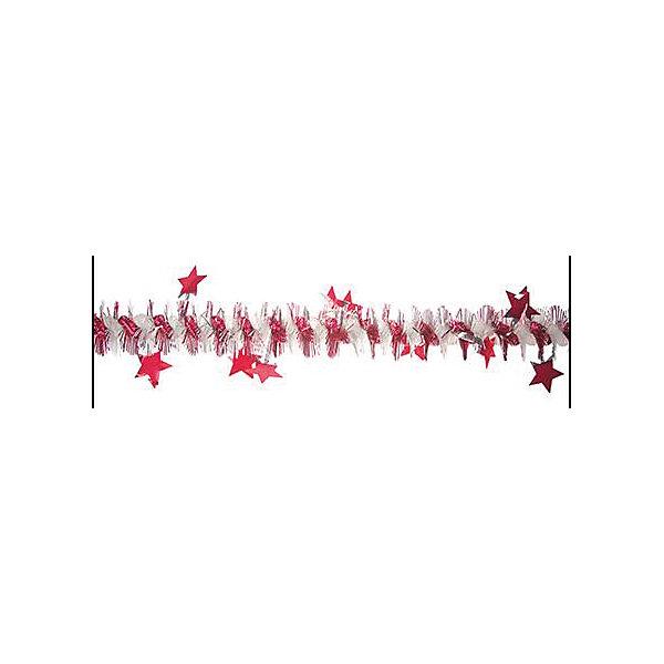 мишура Мерцающие звездочки, цв. ассортиНовогодняя мишура и бусы<br>Характеристики:<br><br>• тип игрушки: елочное украшение;<br>• цвет: ассорти;<br>• размер: 200х5х5 см;<br>• бренд: Marko Ferenzo;<br>• возраст: от 3 лет;<br>• вес: 13 гр;<br>• материал: пластик.<br><br>Мишура «Мерцающие звездочки»  200 см  станет отличным дополнением к новогодним украшениям елки или интерьера дома к праздникам. С помощью мишуры ребенок сможет сам поучаствовать в подготовке к празднику и украсить дом.<br><br>Этот декор подходит для ребенка от трех лет. Елочное украшение от бренда Marko Ferenzo представляет собой цветную мишуру, которая отлично дополнит декор дома.  Длина изделия составляет 200 см.  Его можно использовать для украшения новогодней елки или как элемент декора. Использование игрушек и аксессуаров для украшения позволяет ребенку проявить свои творческие способности, пофантазировать или раскрыть талант. Все элементы  являются абсолютно безопасными для ребенка и изготовлены из высококачественных материалов.<br><br>Мишуру  «Мерцающие звездочки»  200 см  можно купить в нашем интернет-магазине.<br><br>Ширина мм: 50<br>Глубина мм: 50<br>Высота мм: 2000<br>Вес г: 13<br>Возраст от месяцев: 36<br>Возраст до месяцев: 2147483647<br>Пол: Унисекс<br>Возраст: Детский<br>SKU: 4418961
