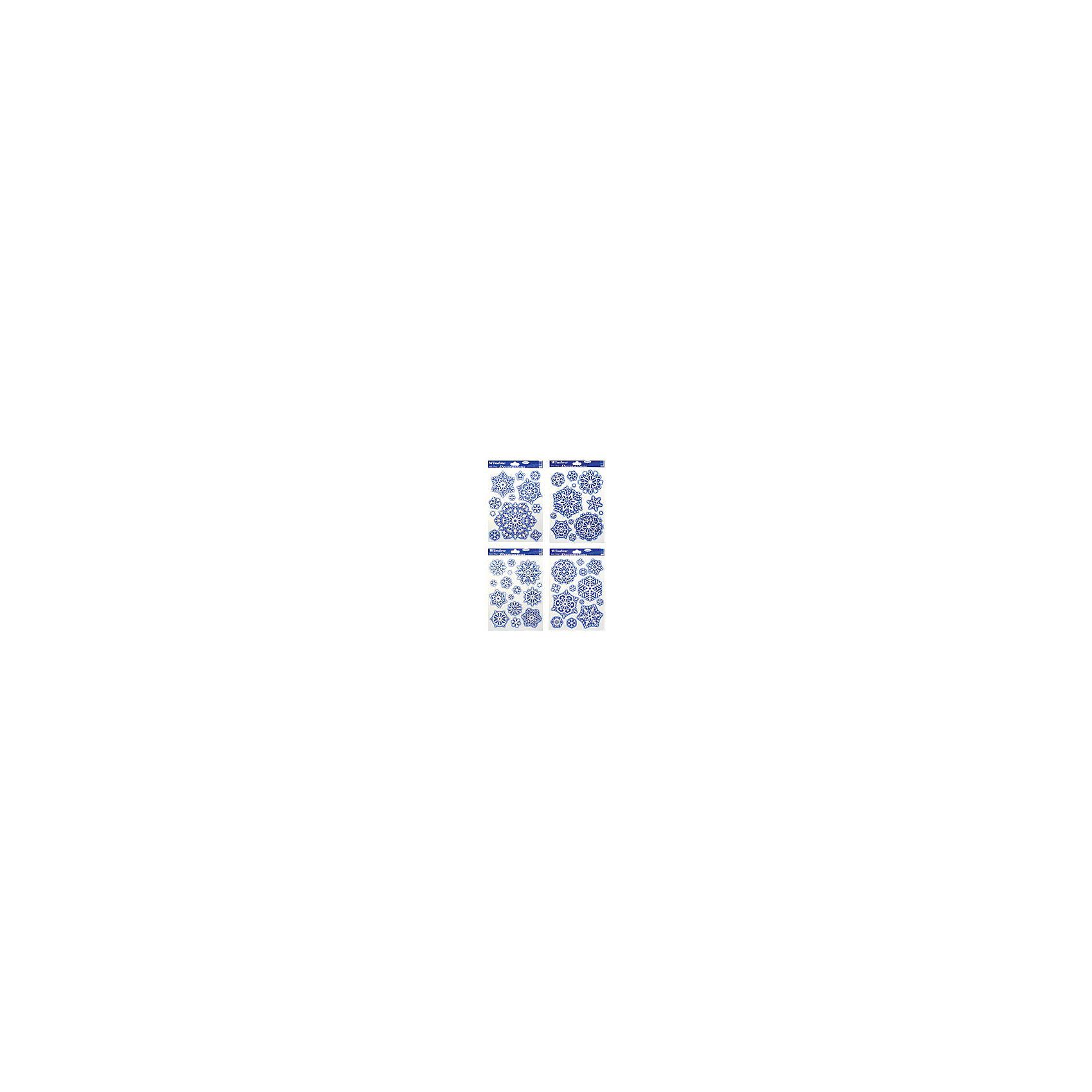 Наклейка на стекло Снежинки 30*20 см, в ассортиментеВсё для праздника<br>Наклейка на стекло Снежинки 30*20 см, в ассортименте - этот новогодний стикер создаст праздничную атмосферу.<br>Наклейка на стекло Снежинки- оригинальное украшение, которое в сочетании с елкой довершит чудесное преобразование праздничного интерьера. Украшение предназначено для декорирования стеклянных поверхностей. С его помощью можно оригинально украсить окна, стекла межкомнатных дверей, а так же зеркальные поверхности. Оно создаст впечатление свежести, настоящего мороза. Устройте настоящий праздник!<br><br>Дополнительная информация:<br><br>- В ассортименте: 4 вида<br>- Размер: 30х20 см.<br>- ВНИМАНИЕ! Данный артикул представлен в разных вариантах исполнения. К сожалению, заранее выбрать определенный вариант невозможно. При заказе нескольких наклеек возможно получение одинаковых<br><br>Наклейку на стекло Снежинки 30*20 см, в ассортименте можно купить в нашем интернет-магазине.<br><br>Ширина мм: 100<br>Глубина мм: 10<br>Высота мм: 100<br>Вес г: 333<br>Возраст от месяцев: 36<br>Возраст до месяцев: 2147483647<br>Пол: Унисекс<br>Возраст: Детский<br>SKU: 4418966