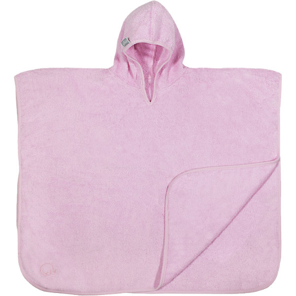Полотенце-пончо 60 х70 см, Jollein, Pink