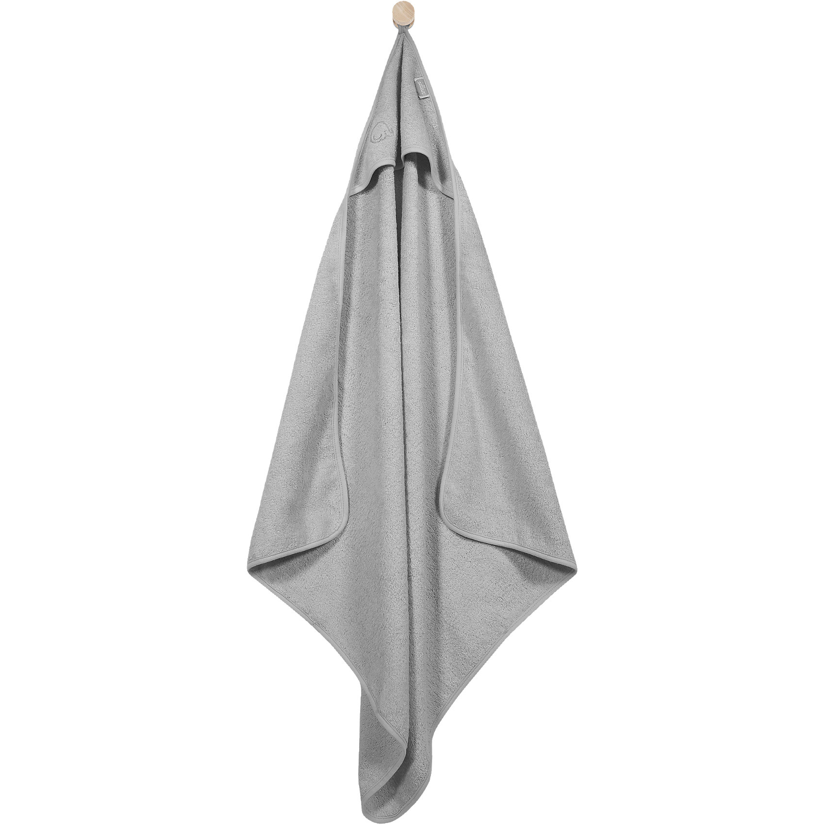 Полотенце с капюшоном 75 х 75 см, Jollein, GreyВанная комната<br>Характеристики:<br><br>• тип полотенца: полотенце с уголком-капюшоном;<br>• обладает хорошей впитывающей способностью; <br>• мягкое полотенце, приятное на ощупь;<br>• материал: плотная махра, длинный ворс;<br>• плотность: 340 гр/м2;<br>• состав ткани: 100% хлопок;<br>• размер: 75х75 см.<br><br>Мягкое махровое полотенце с уголком позволяет обернуть малыша после купания, накинув на головку крохе капюшон. Полотенце Jollein поможет избежать переохлаждения после купания, ребенку будет тепло, уютно в мягком полотенце. <br><br>Полотенце с капюшоном 75 х 75 см, Jollein, Grey можно купить в нашем интернет-магазине.<br><br>Ширина мм: 301<br>Глубина мм: 306<br>Высота мм: 43<br>Вес г: 253<br>Цвет: серый<br>Возраст от месяцев: 0<br>Возраст до месяцев: 36<br>Пол: Унисекс<br>Возраст: Детский<br>SKU: 4419132