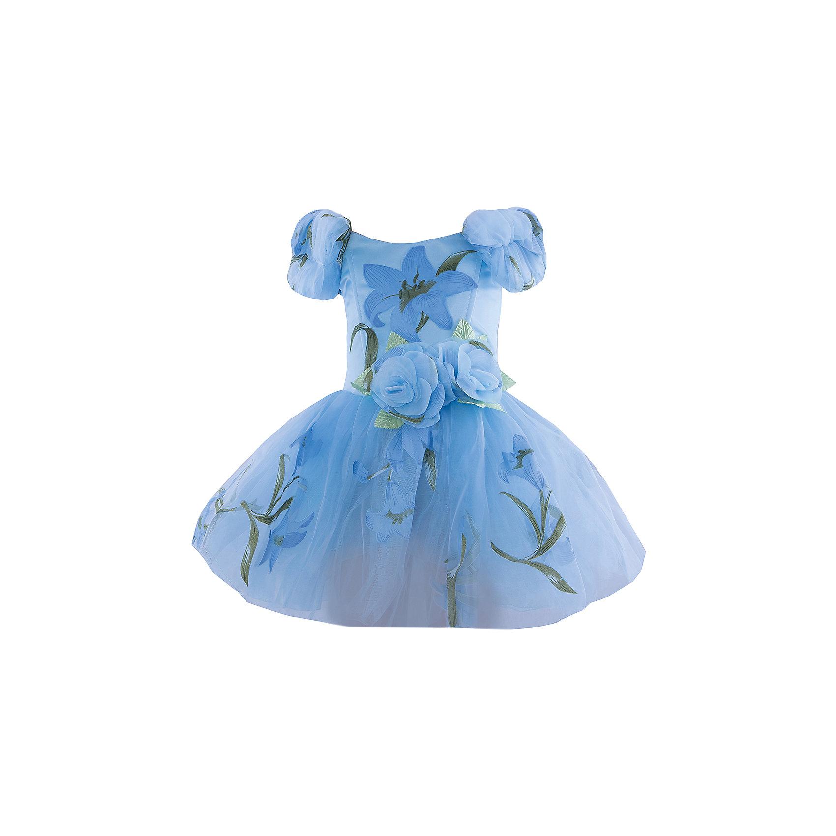 Нарядное платье Шармель100% полиэстер<br><br>Ширина мм: 236<br>Глубина мм: 16<br>Высота мм: 184<br>Вес г: 177<br>Цвет: голубой<br>Возраст от месяцев: 24<br>Возраст до месяцев: 36<br>Пол: Женский<br>Возраст: Детский<br>Размер: 92/98<br>SKU: 4419851