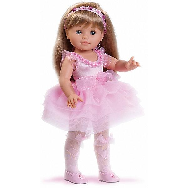 Кукла Сой Ту, 40 см, Paola ReinaКуклы<br>Куклы из серии Сой Ту ( Я это Ты) так похожи на маленьких девочек! Эта очаровательна малышка одета в нежное платье с пышной юбкой, декорированное полупрозрачным бантиком и милыми оборками. На ногах куклы колготы и маленькие красивые туфельки. Завершает образ небольшой изысканный ободок на голове. Длинные белокурые волосы очень приятно расчесывать и создавать из них всевозможные прически. Куклы Паола Рейна имеют нежный ванильный аромат, одеты в модную одежду с аксессуарами. Выразительная мимика, уникальный и неповторимый дизайн лица и тела делают эти игрушки запоминающимися и уникальными. Куклы изготовлены из высококачественного винила, без вредных примесей, абсолютно безопасны для детей. <br><br>Дополнительная информация:<br><br>- Материалы: кукла изготовлена из винила; глаза выполнены в виде кристалла из прозрачного твердого пластика; волосы сделаны из высококачественного нейлона, одежда - текстиль.<br>- Размер: 40 см.<br>- Комплектация: кукла в одежде и обуви. <br>- Голова, ручки, ножки куклы подвижные.<br><br>Куклу Сой Ту, 40 см, Paola Reina (Паола Рейна), можно купить в нашем магазине.<br><br>Ширина мм: 250<br>Глубина мм: 120<br>Высота мм: 500<br>Вес г: 1333<br>Возраст от месяцев: 36<br>Возраст до месяцев: 144<br>Пол: Женский<br>Возраст: Детский<br>SKU: 4420320