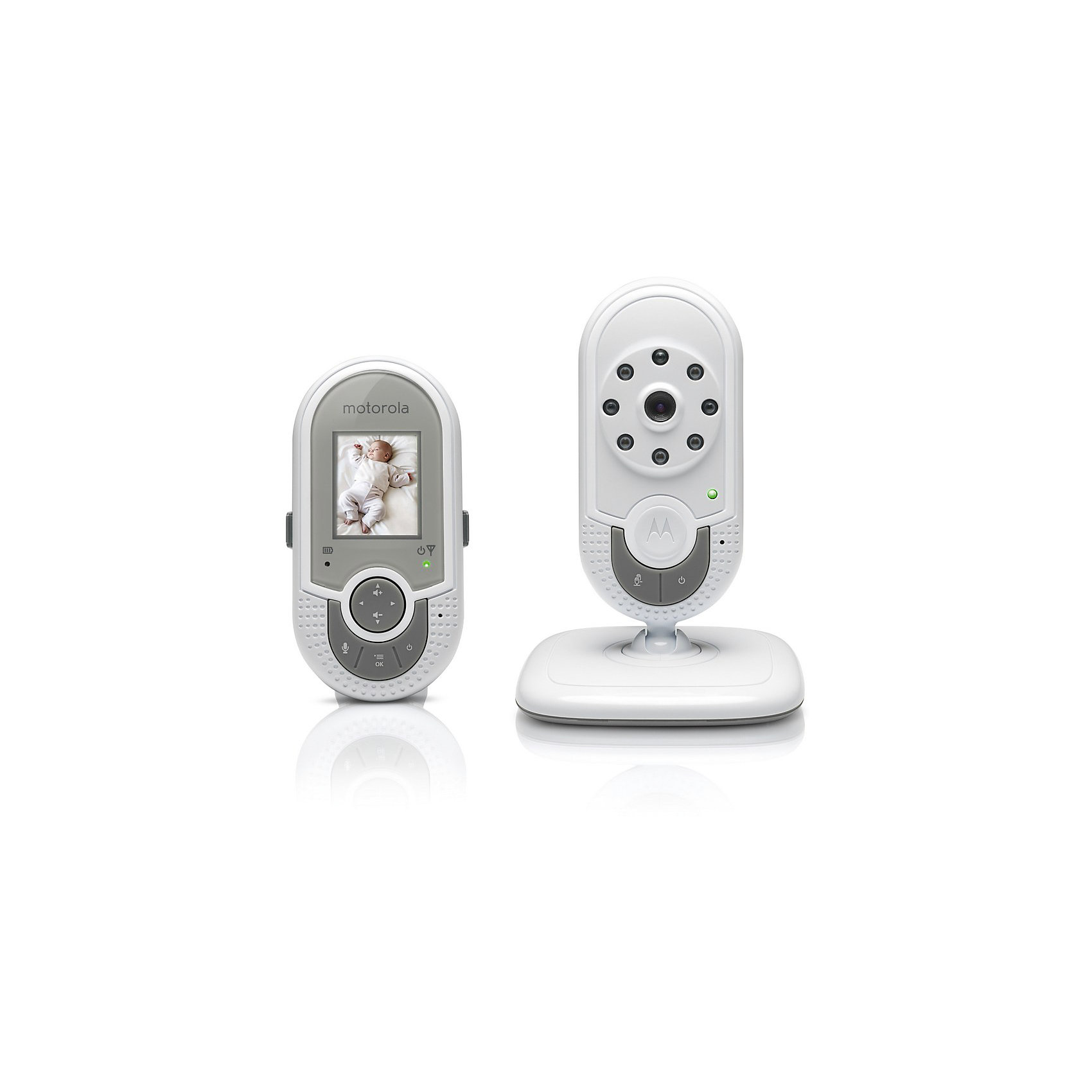 Видеоняня MBP621 Motorola, белый<br><br>Ширина мм: 170<br>Глубина мм: 110<br>Высота мм: 155<br>Вес г: 630<br>Возраст от месяцев: 0<br>Возраст до месяцев: 36<br>Пол: Унисекс<br>Возраст: Детский<br>SKU: 4420764