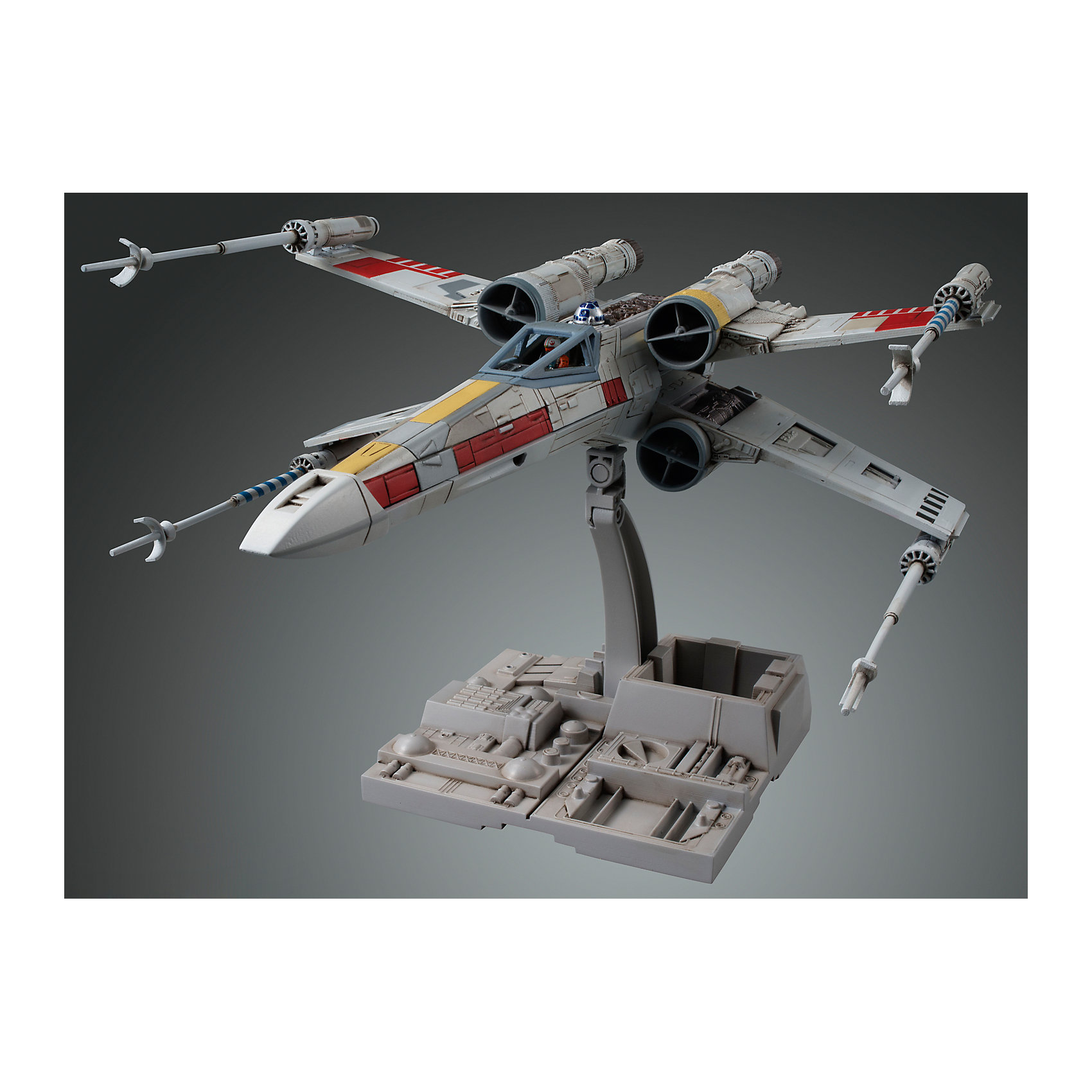BANDAI Сборная модель Истребитель X-Wing Fighter 1/72, Звездные Войны lepin 05040 y wing attack fighter 10134 star series wars model building block brick kits compatible assembling gift toys