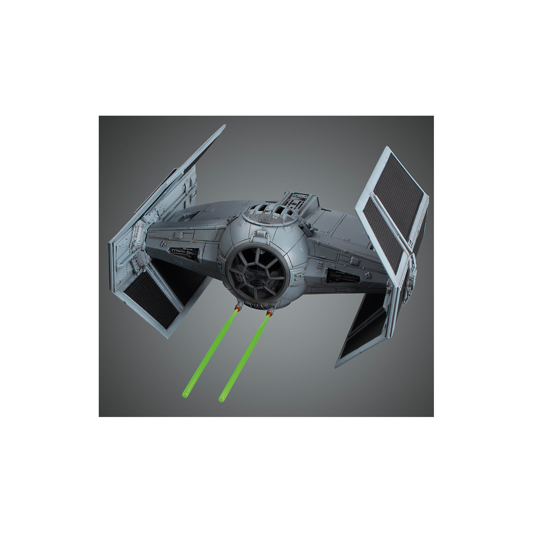 Сборная модель Истребитель TIE Advance1/72, Звездные ВойныЭтот набор приведет в восторг все поклонников легендарной саги Star Wars. В яркой красочной коробке находится комплект деталей для сборки масштабной стендовой модели Усовершенствованного Звёздного Истребителя серии TIE («Twin Ion Engine» - «Сдвоенный Ионный Двигатель»). Детали для сборки изготовлены из качественного пластика и имеют отличную детализацию, вся продукция фирмы Bandai лицензирована фирмами правообладателями, что гарантирует её высокое качество. <br>Конструирование - интереснейший процесс, позволяющий развить у ребенка мелкую моторику, логическое мышление, внимание, умение работать по инструкции.<br><br>Дополнительная информация:<br><br>- Масштаб: 1:72 см.<br>- Материал: пластик.<br>- Размер упаковки: 30х20 см.<br>- Основное оружие - лазерные пушки.<br>- Два варианта фигурки Дарт Вейдера (сидящую и в полный рост).<br>- Два варианта фонаря кабины пилота (прозрачную и матовую). <br><br>Сборную модель Истребитель TIE Advance1/72, Звездные Войны (Star Wars) можно купить в нашем магазине.<br><br>Ширина мм: 300<br>Глубина мм: 190<br>Высота мм: 55<br>Вес г: 295<br>Возраст от месяцев: 72<br>Возраст до месяцев: 192<br>Пол: Мужской<br>Возраст: Детский<br>SKU: 4422656