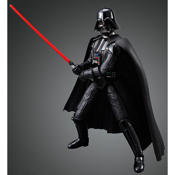 Сборная модель Дарт Вейдер 1/12, Звездные ВойныЗвездные войны Игрушки<br>Этот набор приведет в восторг все поклонников легендарной саги Star Wars. В коробке находится комплект деталей для сборки большой коллекционной фигуры одного из любимейших культовых героев фантастической киносаги «Звёздные Войны» - Главнокомандующего войсками Галактической Империи Тёмного Лорда Ситхов - Дарта Вейдера. Модель имеет съёмный шлем, несколько заменяемых вариантов кистей рук и два варианта светового меча (открытый и закрытый). Детали для сборки изготовлены из качественного чёрного пластика и имеют хорошую детализацию, вся продукция фирмы Bandai лицензирована фирмами правообладателями, что гарантирует её высокое качество и безопасность для здоровья.<br>Конструирование - интереснейший процесс, позволяющий развить у ребенка мелкую моторику, логическое мышление, внимание, умение работать по инструкции.<br><br>Дополнительная информация:<br><br>- Масштаб: 1:12 см.<br>- Материал: пластик.<br>- Размер упаковки: 30х20 см.<br>- Основное оружие - лазерные пушки.<br>- Съемный шлем.<br>- Два варианта светового меча (открытый и закрытый).<br><br>Сборную модель Дарт Вейдер 1/12, Звездные Войны (Star Wars) можно купить в нашем магазине.<br><br>Ширина мм: 300<br>Глубина мм: 190<br>Высота мм: 55<br>Вес г: 384<br>Возраст от месяцев: 72<br>Возраст до месяцев: 192<br>Пол: Мужской<br>Возраст: Детский<br>SKU: 4422657