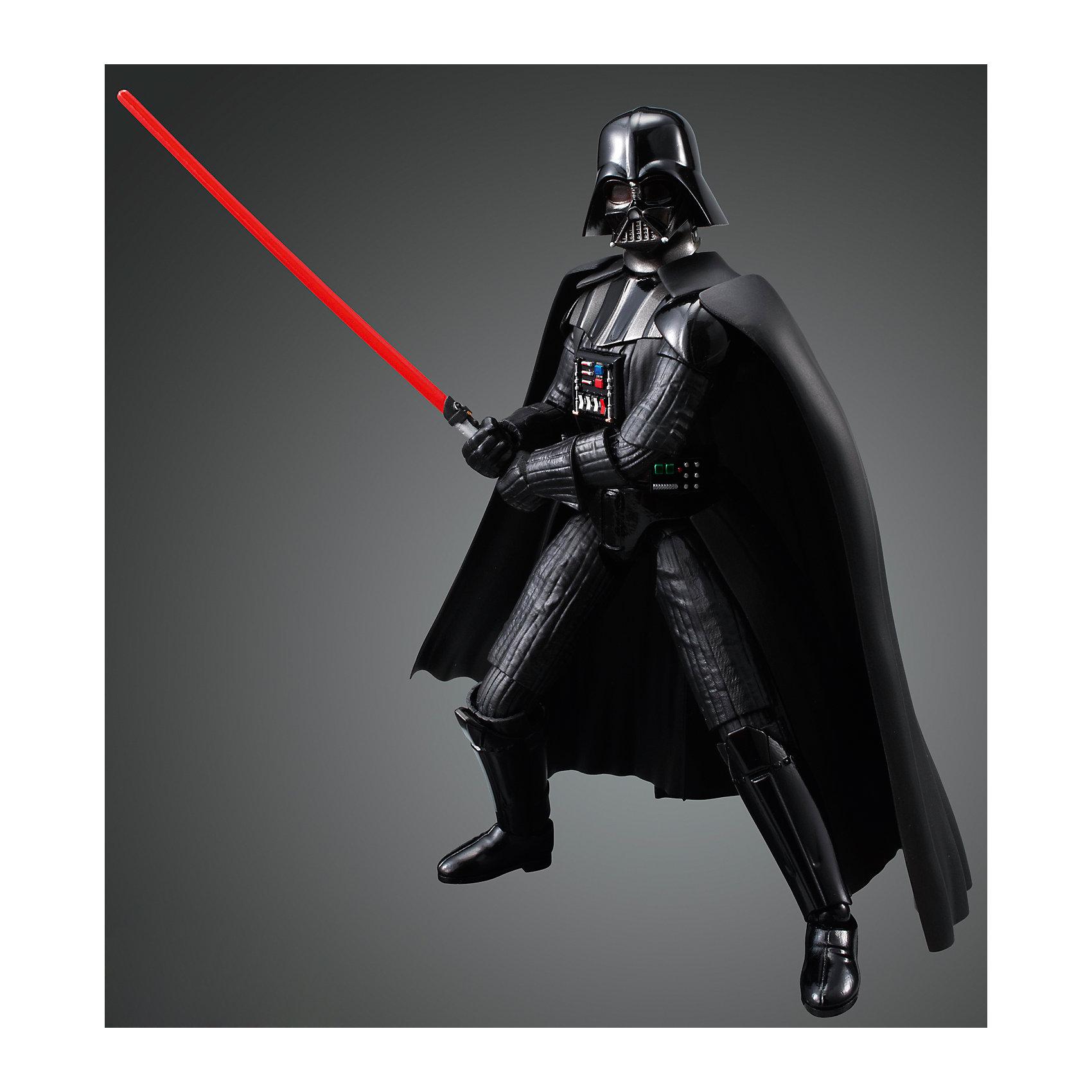 Сборная модель Дарт Вейдер 1/12, Звездные ВойныЭтот набор приведет в восторг все поклонников легендарной саги Star Wars. В коробке находится комплект деталей для сборки большой коллекционной фигуры одного из любимейших культовых героев фантастической киносаги «Звёздные Войны» - Главнокомандующего войсками Галактической Империи Тёмного Лорда Ситхов - Дарта Вейдера. Модель имеет съёмный шлем, несколько заменяемых вариантов кистей рук и два варианта светового меча (открытый и закрытый). Детали для сборки изготовлены из качественного чёрного пластика и имеют хорошую детализацию, вся продукция фирмы Bandai лицензирована фирмами правообладателями, что гарантирует её высокое качество и безопасность для здоровья.<br>Конструирование - интереснейший процесс, позволяющий развить у ребенка мелкую моторику, логическое мышление, внимание, умение работать по инструкции.<br><br>Дополнительная информация:<br><br>- Масштаб: 1:12 см.<br>- Материал: пластик.<br>- Размер упаковки: 30х20 см.<br>- Основное оружие - лазерные пушки.<br>- Съемный шлем.<br>- Два варианта светового меча (открытый и закрытый).<br><br>Сборную модель Дарт Вейдер 1/12, Звездные Войны (Star Wars) можно купить в нашем магазине.<br><br>Ширина мм: 300<br>Глубина мм: 190<br>Высота мм: 55<br>Вес г: 384<br>Возраст от месяцев: 72<br>Возраст до месяцев: 192<br>Пол: Мужской<br>Возраст: Детский<br>SKU: 4422657