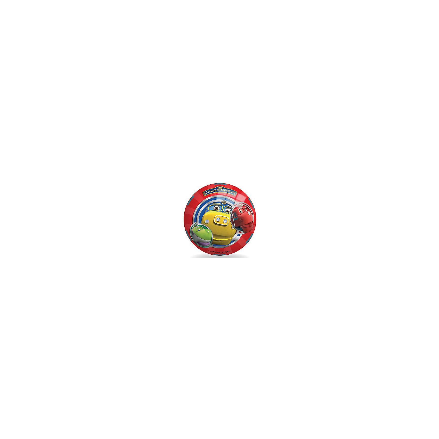 Мяч Чаггингтон, 130 мм, JOHNМяч Чаггингтон, 130 мм, JOHN (ДЖОН) – это легкий яркий мяч, высоко отскакивает от пола мяч.<br>Яркий, высоко прыгающий мяч с изображением знаменитых веселых паровозиков из Чаггингтона понравится малышу. Мячик подойдет для игры дома, во дворе, на даче и на природе. Он выполнен из прочного и совершенного безопасного материала, который выдерживает воздействие влаги и имеет прочную структуру. Игра в мяч способствует развитию мелкой моторики, ловкости рук, координации движения.<br><br>Дополнительная информация:<br><br>- Диаметр: 13 см.<br>- Материал: ПВХ, пластизоль<br><br>Мяч Чаггингтон, 130 мм, JOHN (ДЖОН) можно купить в нашем интернет-магазине.<br><br>Ширина мм: 130<br>Глубина мм: 130<br>Высота мм: 130<br>Вес г: 59<br>Возраст от месяцев: 24<br>Возраст до месяцев: 216<br>Пол: Унисекс<br>Возраст: Детский<br>SKU: 4424082